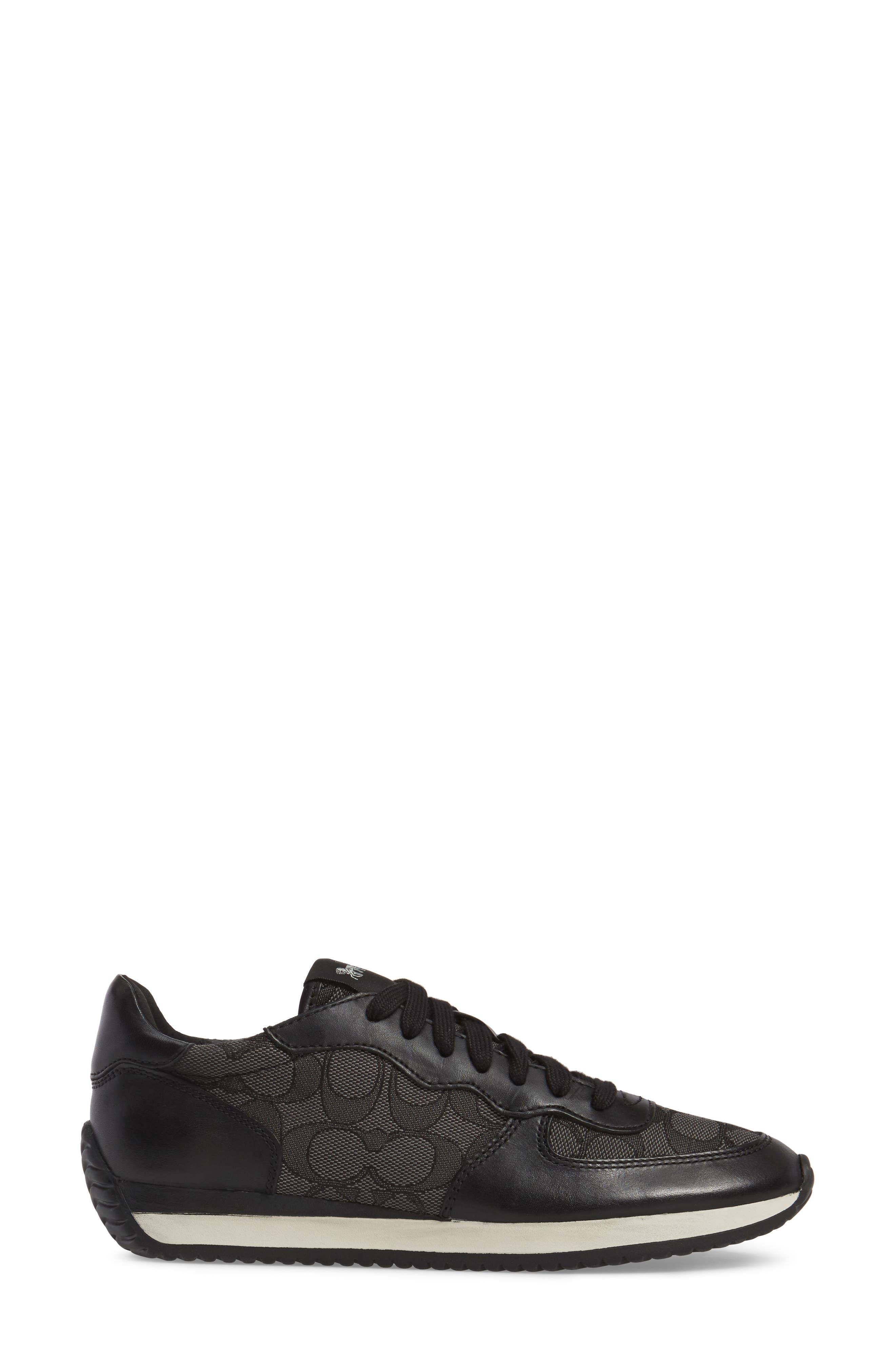 COACH,                             Farah Sneaker,                             Alternate thumbnail 3, color,                             011