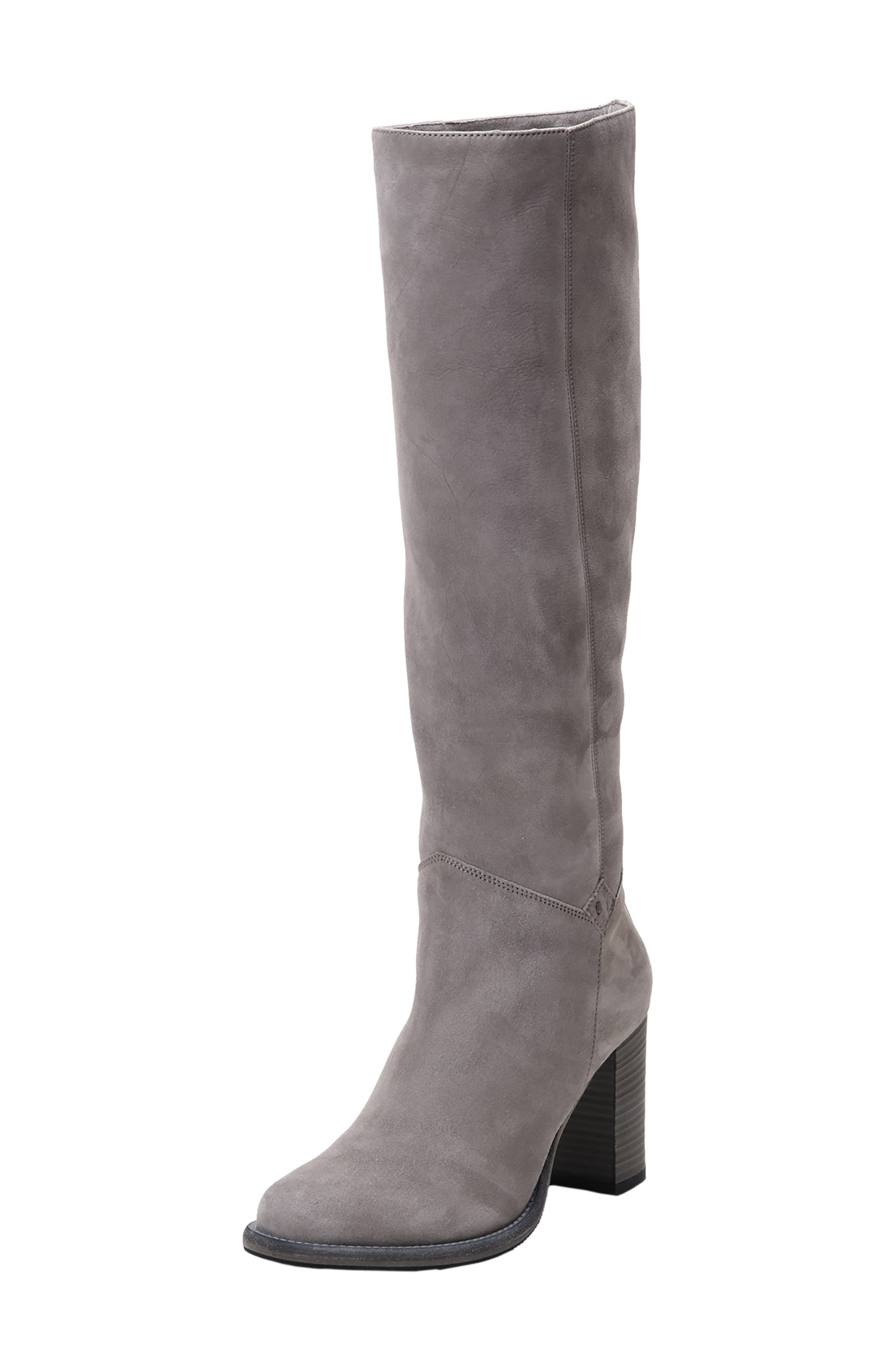 Ross & Snow Michela Sp Waterproof Genuine Shearling Lined Boot, Grey