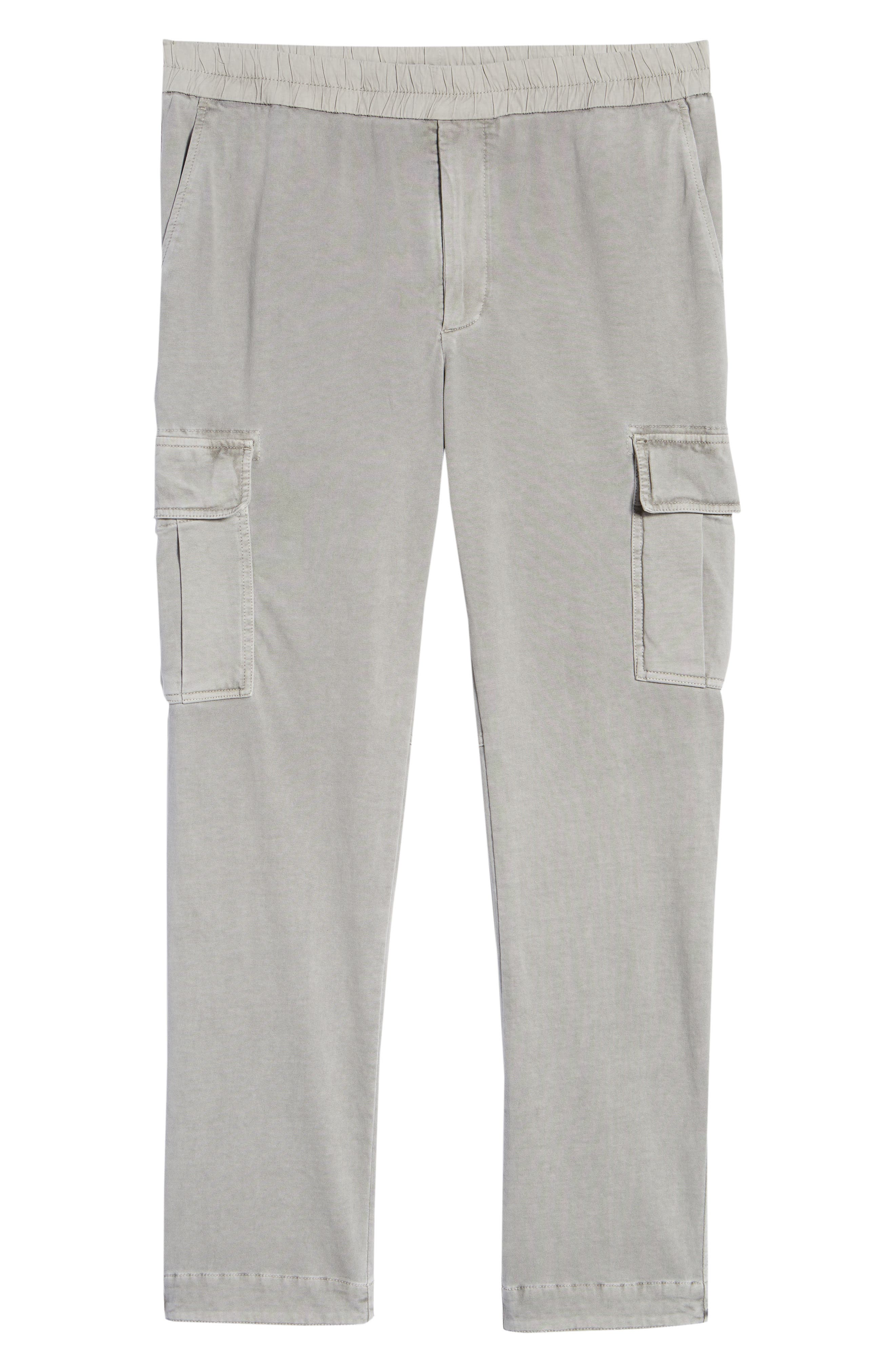 Cotton Jersey Relaxed Fit Cargo Pants,                             Alternate thumbnail 6, color,                             056