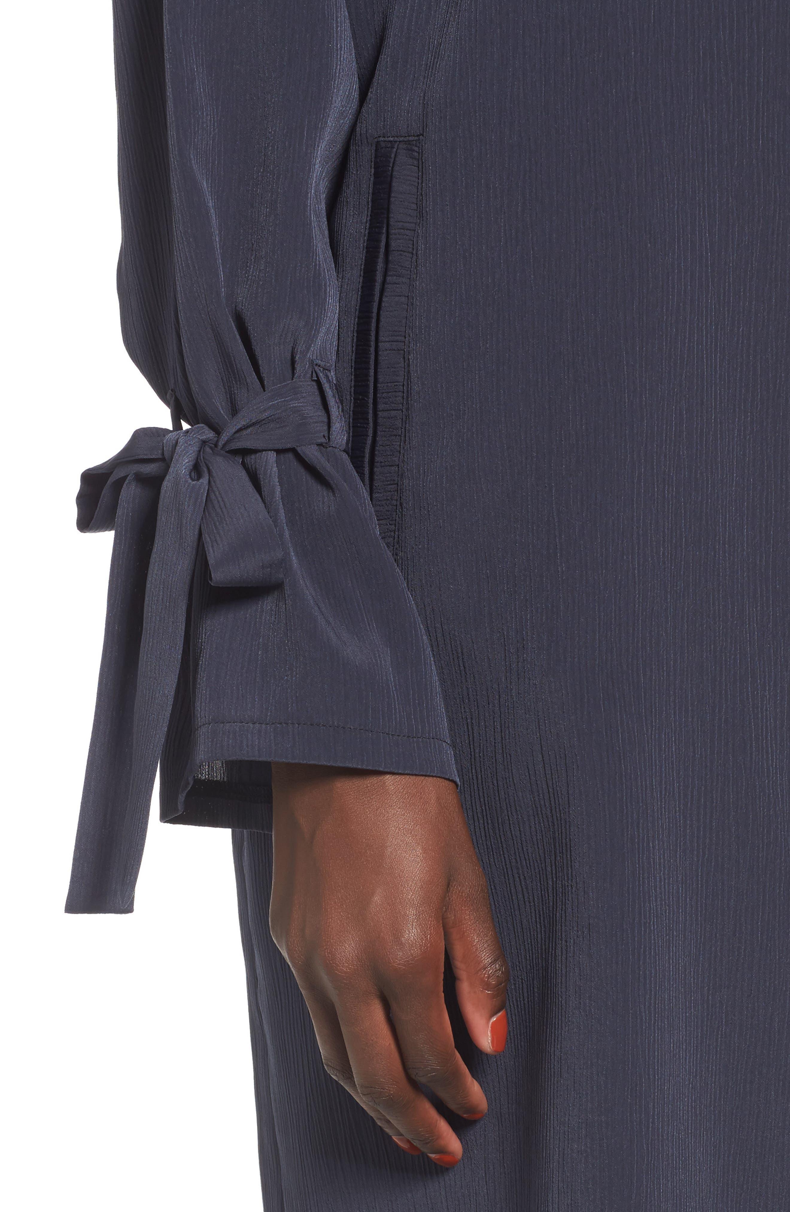 Tie Sleeve Jacket,                             Alternate thumbnail 7, color,