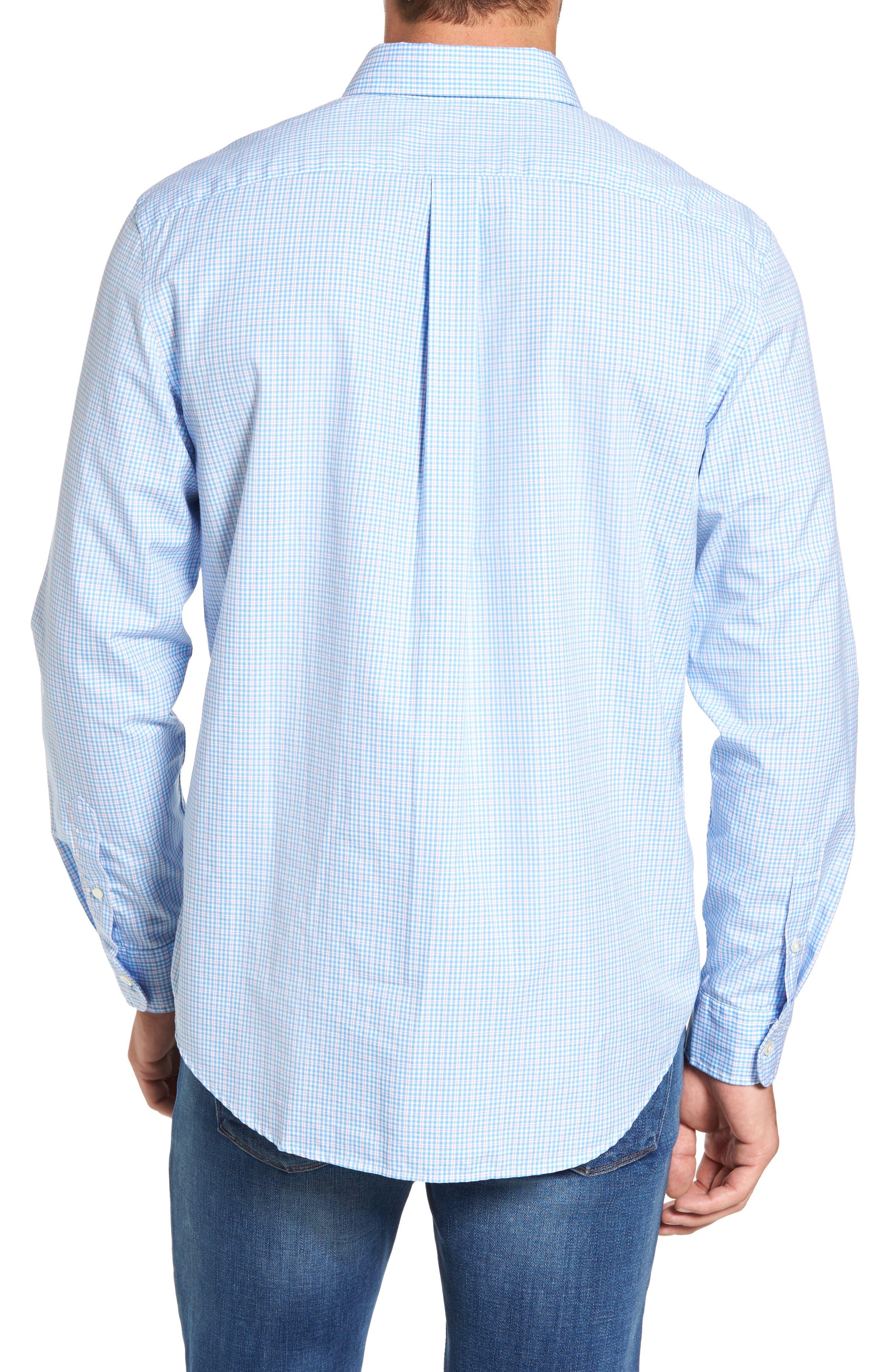 Stowaway Plaid Tucker Classic Fit Sport Shirt,                             Alternate thumbnail 2, color,                             484