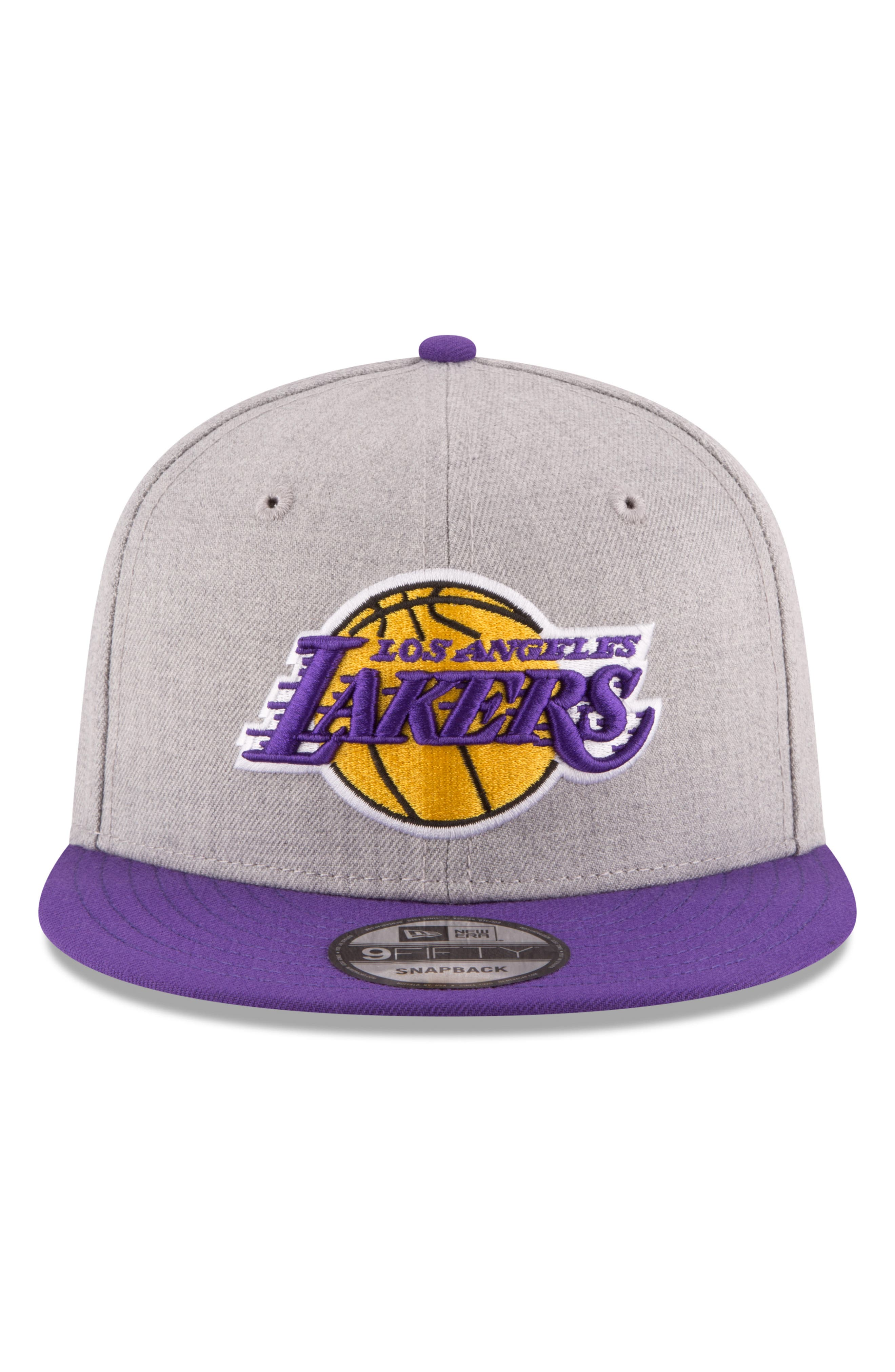 9FIFTY LA Lakers Two-Tone Cap,                             Alternate thumbnail 3, color,                             020