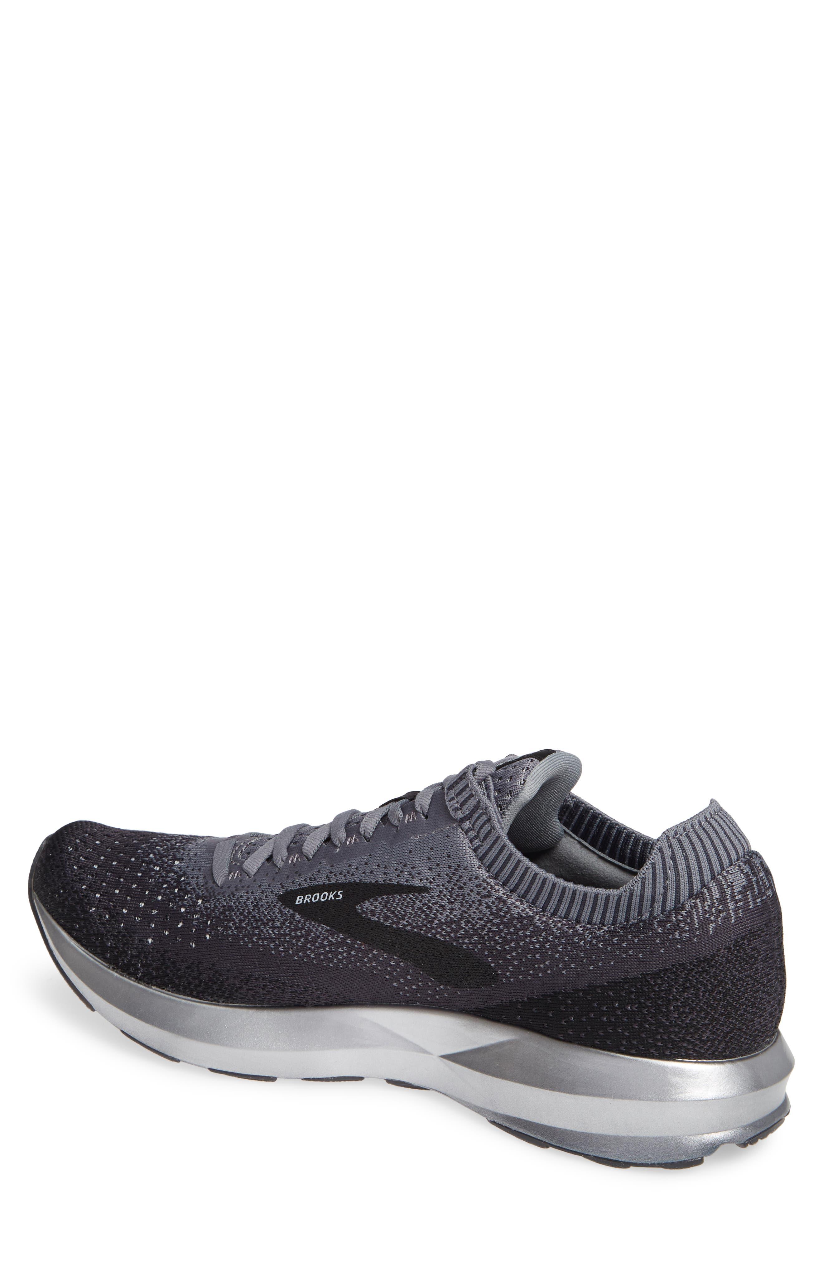 Levitate 2 Running Shoe,                             Alternate thumbnail 2, color,                             BLACK/ GREY/ EBONY