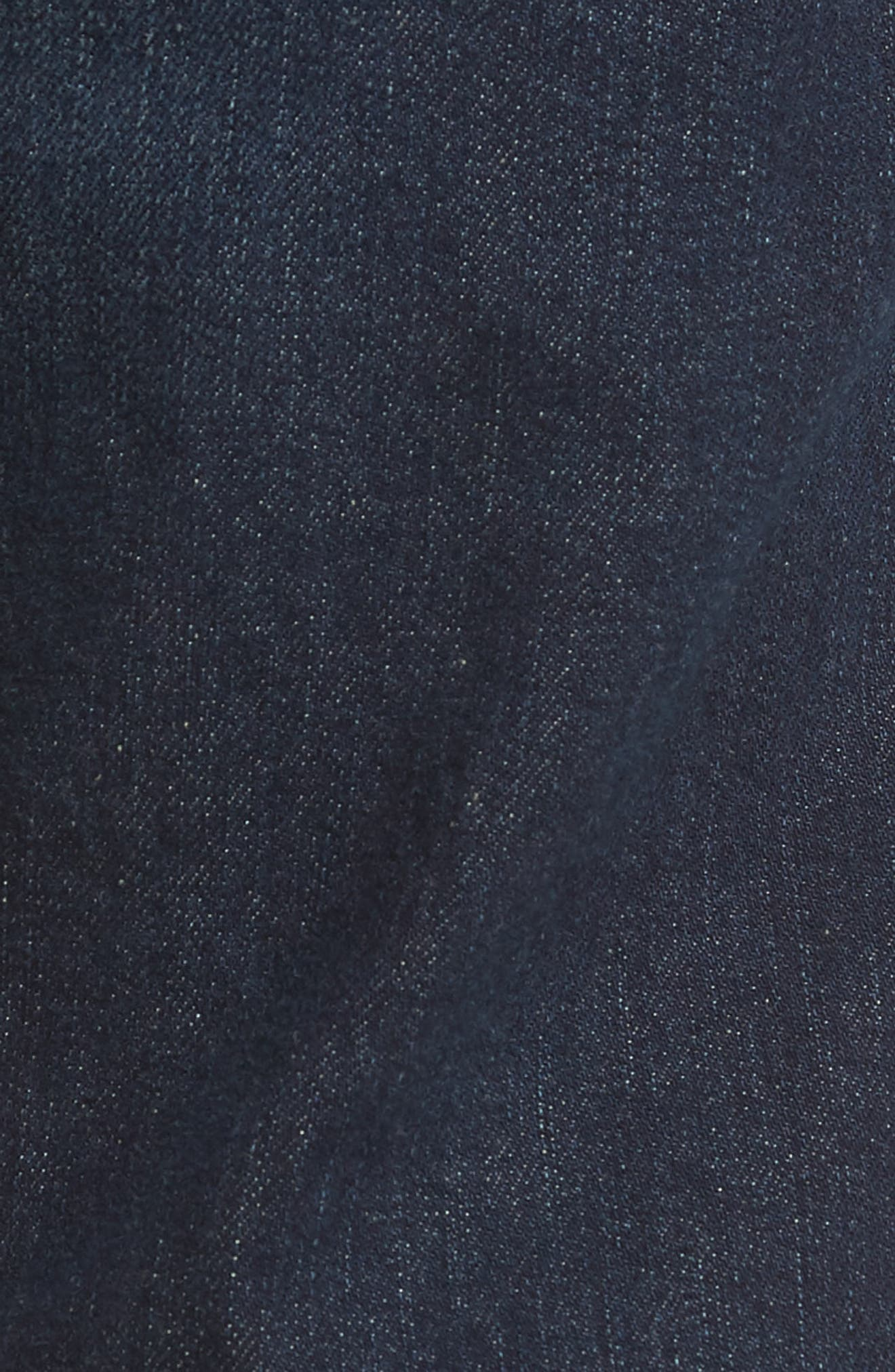 Buster Slim Straight Leg Jeans,                             Alternate thumbnail 5, color,                             BLUE