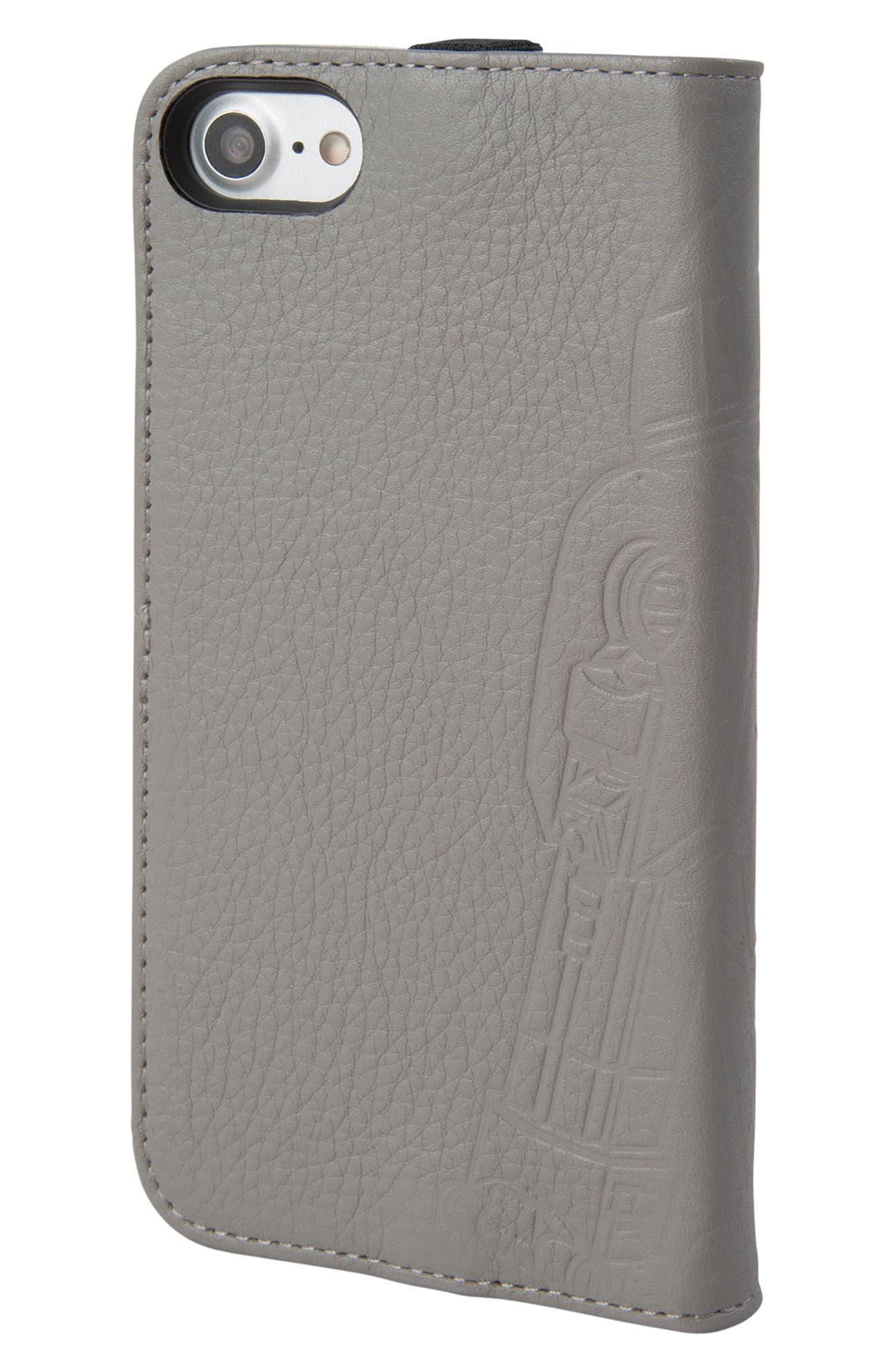 HEX,                             R2-D2 iPhone 6/6s/7/8 Wallet Case,                             Alternate thumbnail 3, color,                             036