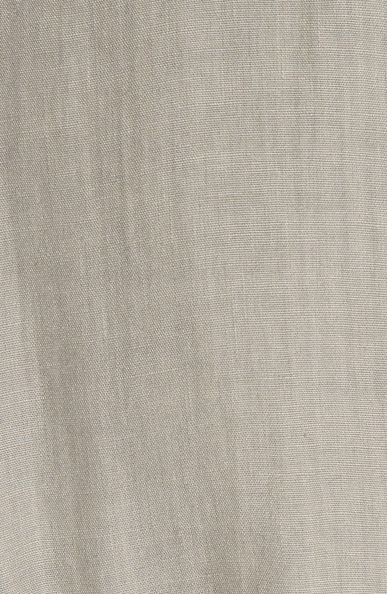Eleni Linen Shirtdress,                             Alternate thumbnail 5, color,                             033