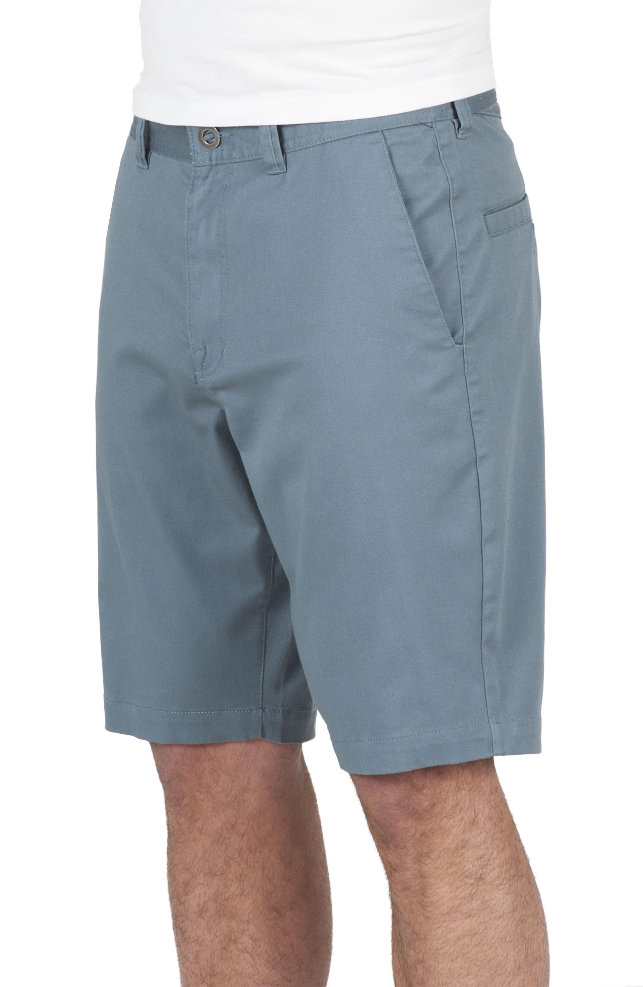 'Modern' Stretch Chino Shorts,                             Main thumbnail 12, color,