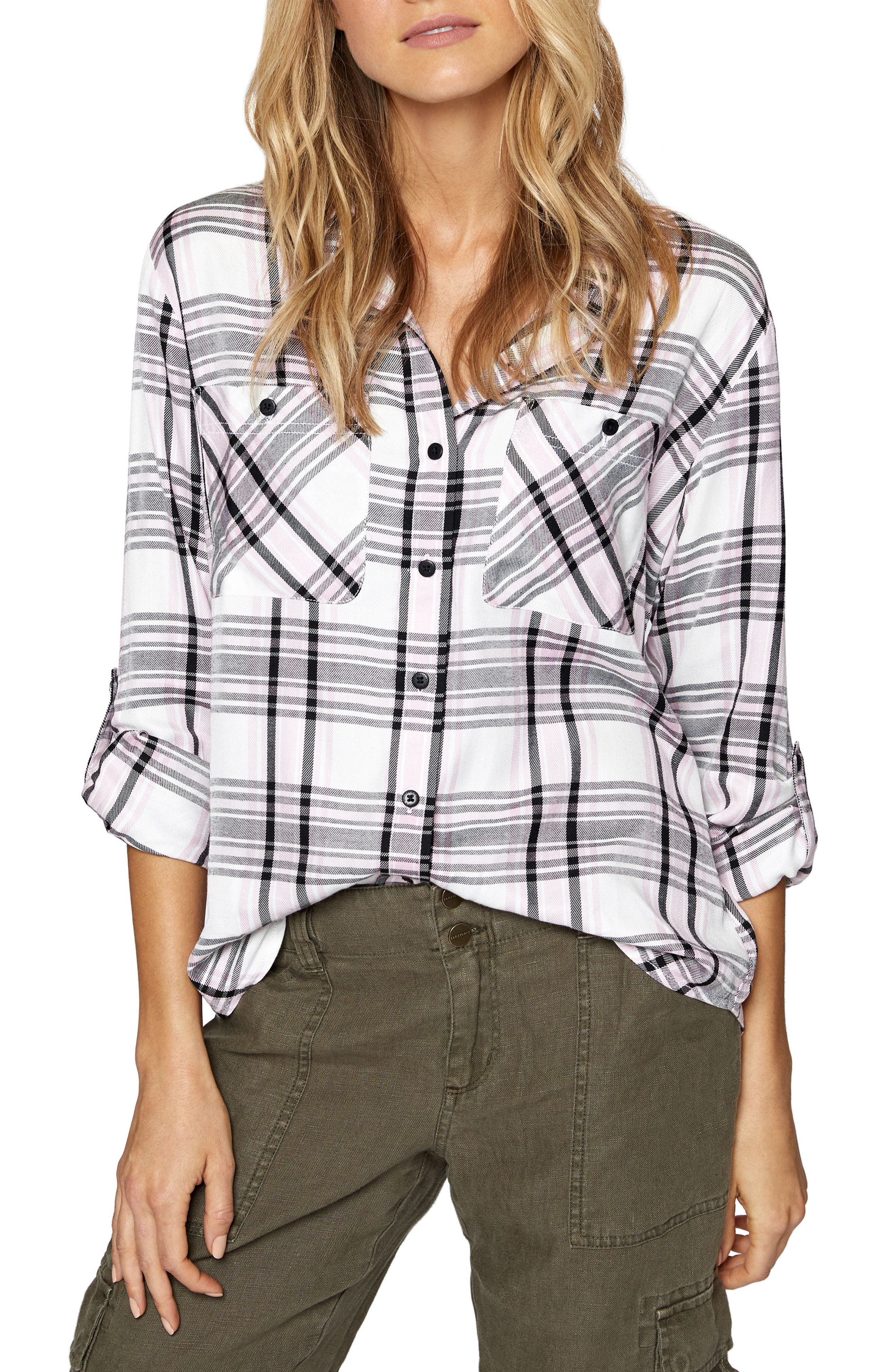 Steady Boyfriend Shirt,                         Main,                         color, 697