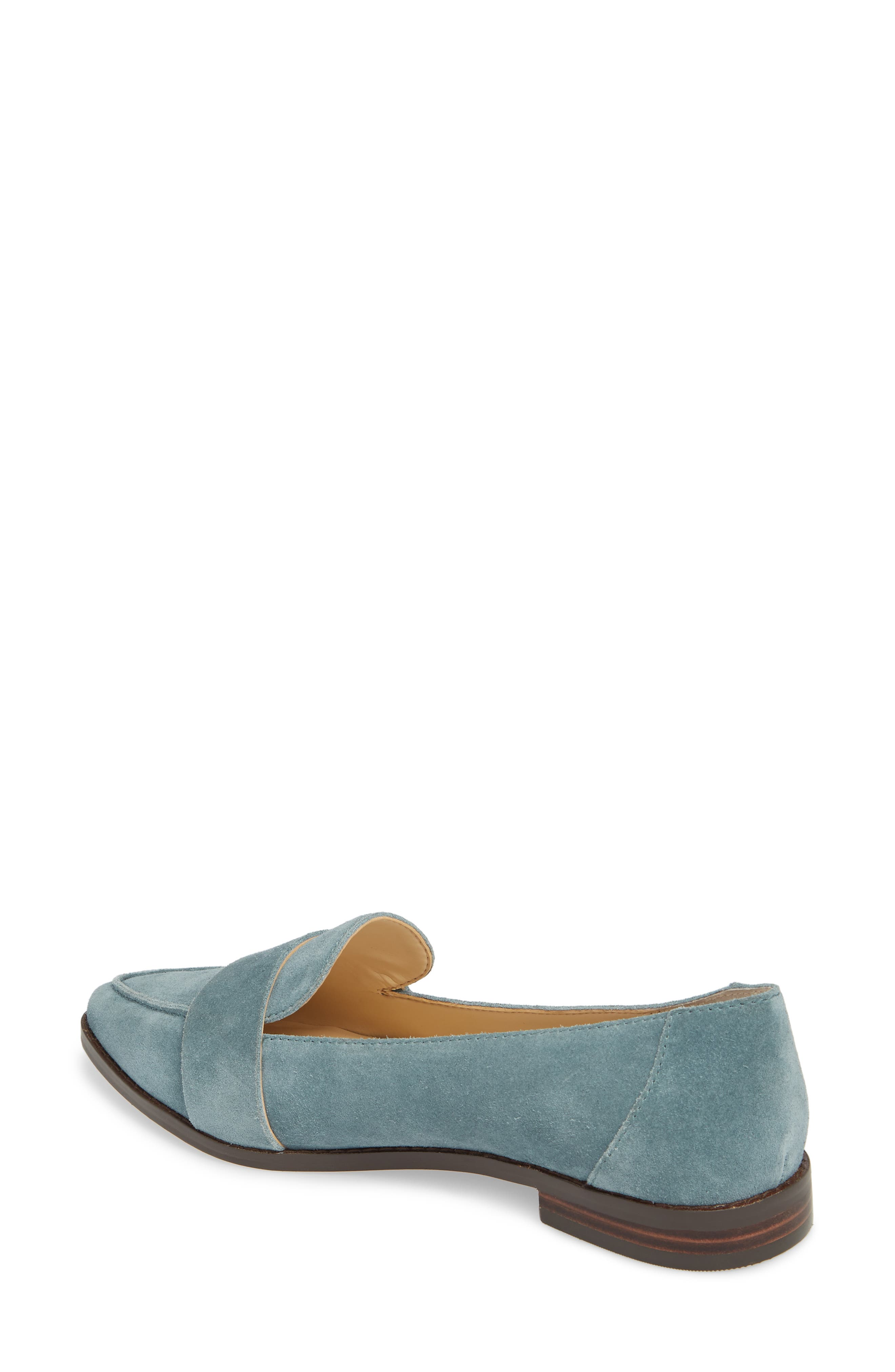 Edie Pointy Toe Loafer,                             Alternate thumbnail 17, color,