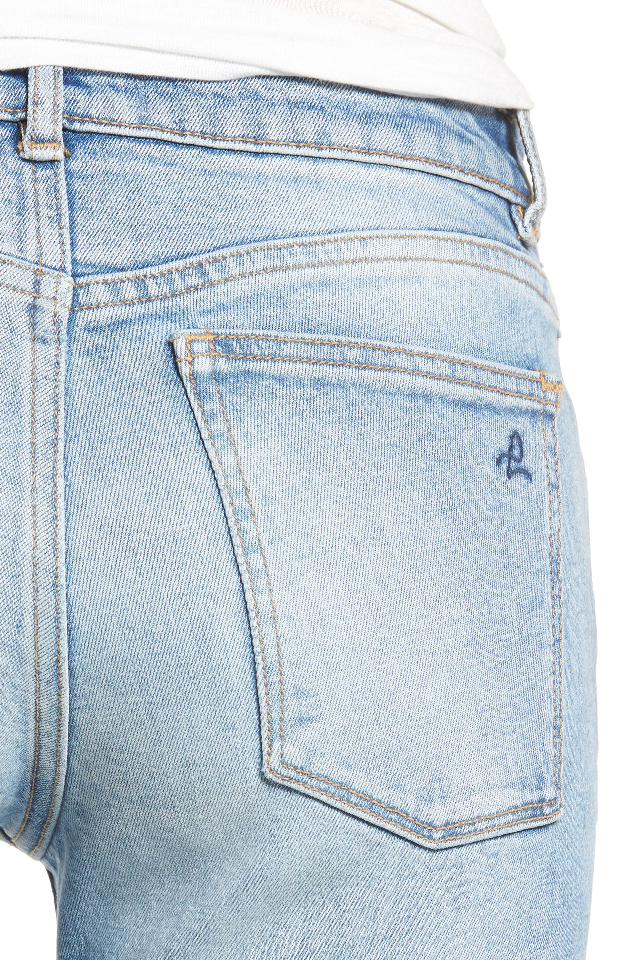 Margaux Instasculpt Ankle Skinny Jeans,                             Alternate thumbnail 4, color,                             430