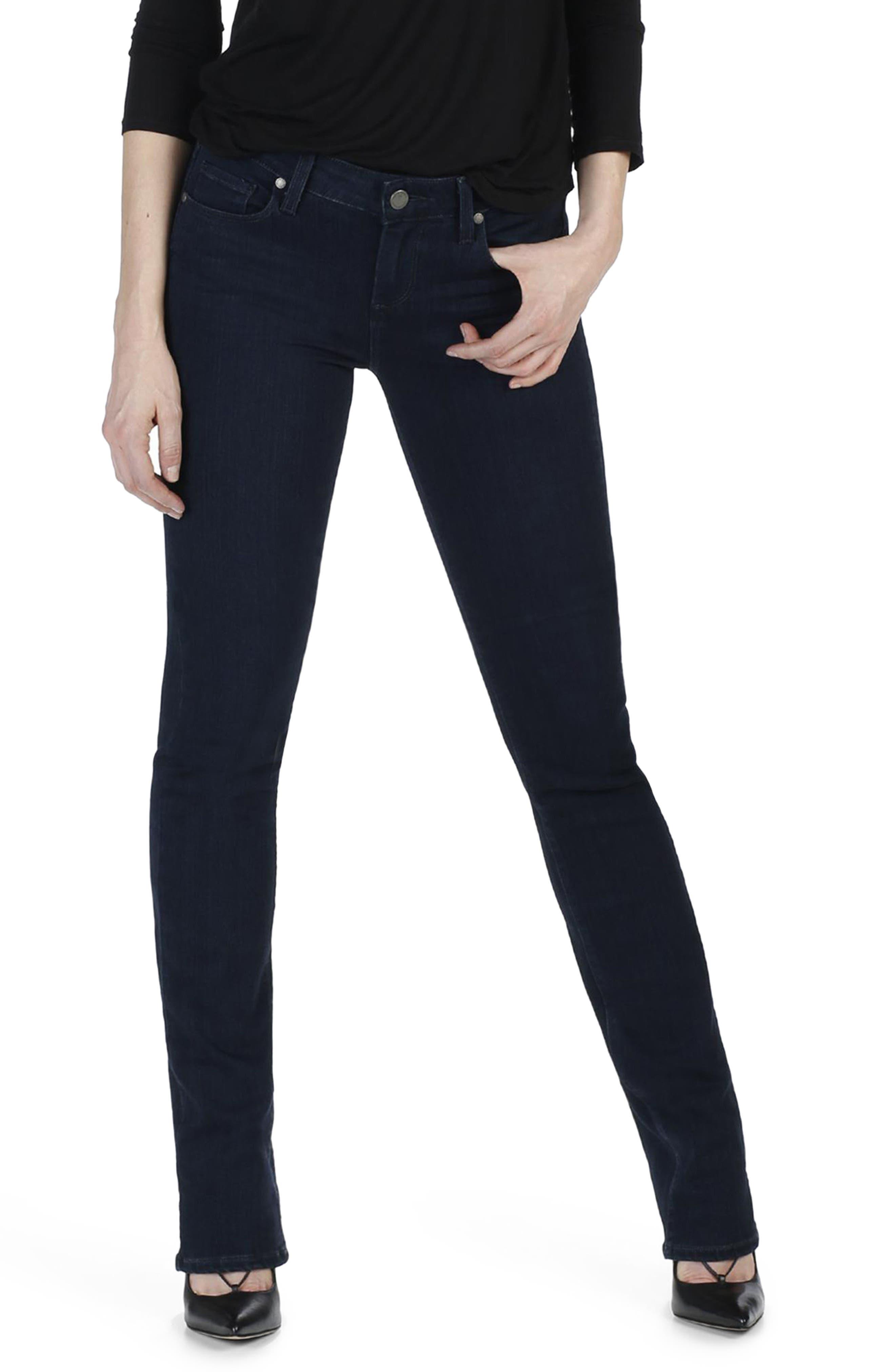 Transcend - Skyline Straight Leg Jeans,                             Alternate thumbnail 2, color,                             400