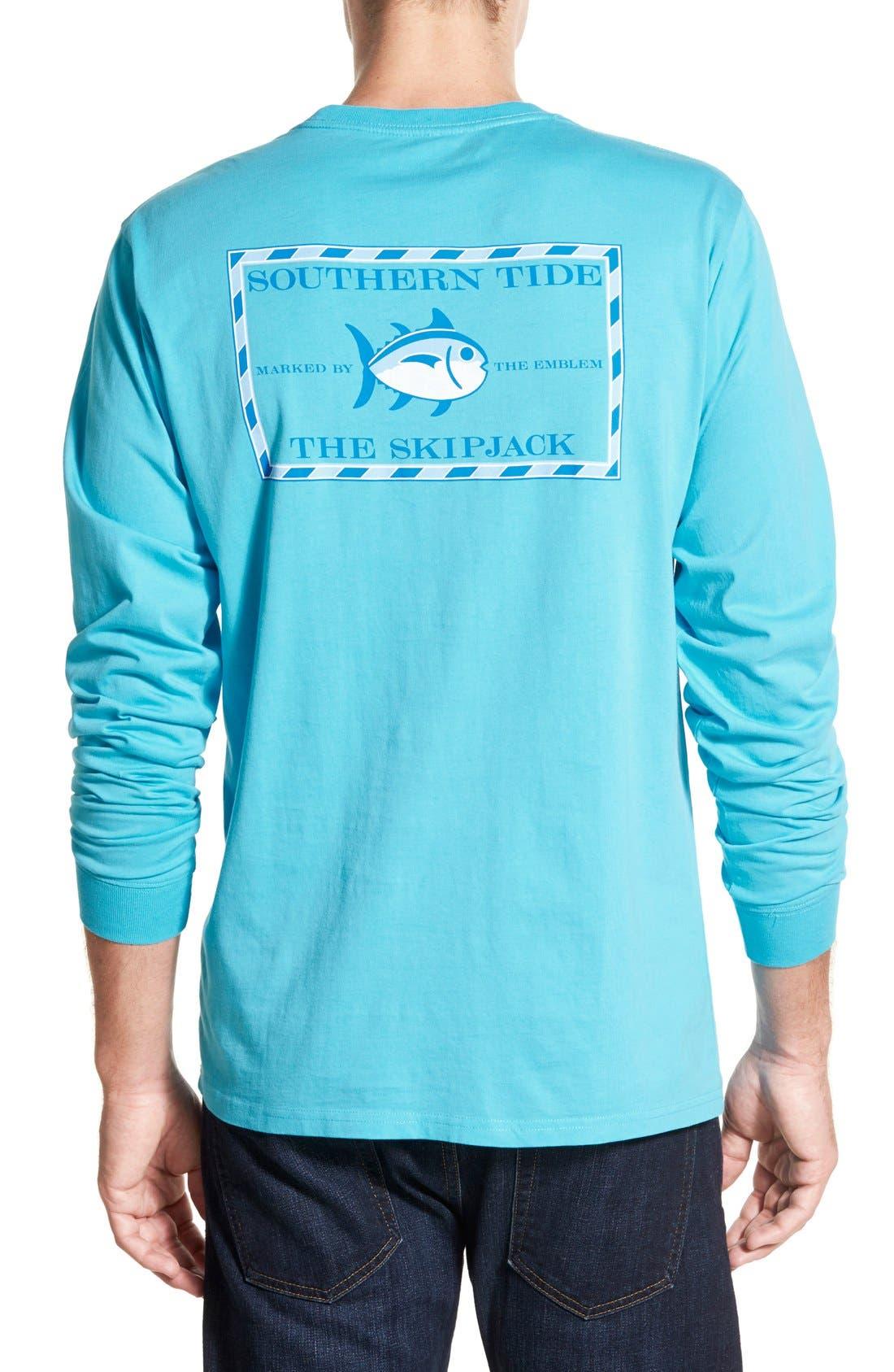 'Skipjack'Long Sleeve Graphic T-Shirt,                             Main thumbnail 7, color,