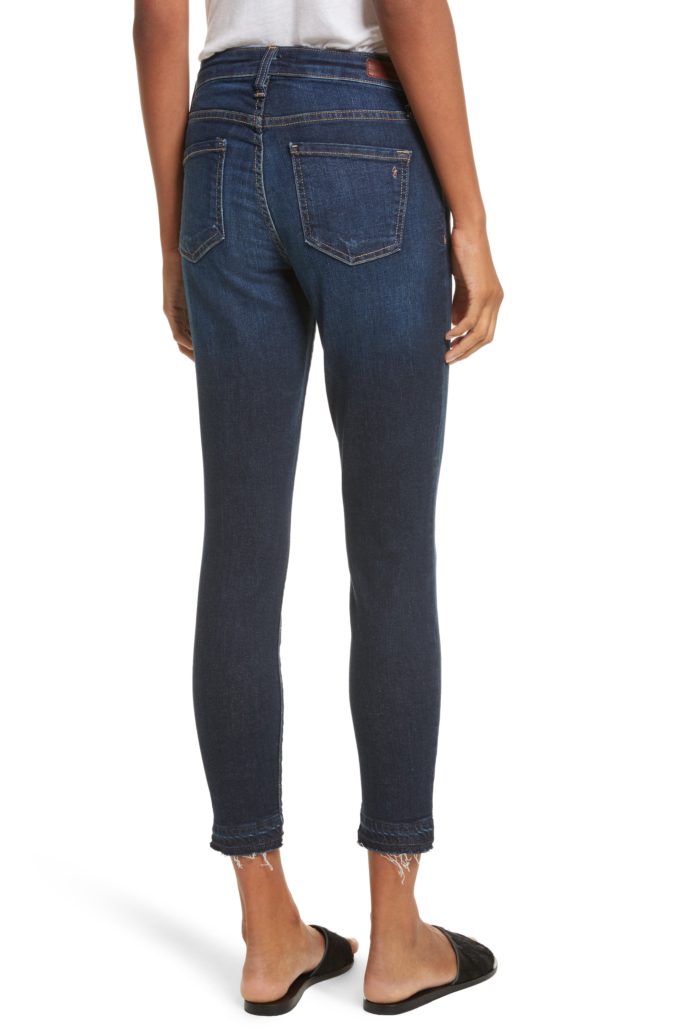 Ankle Skinny Jeans,                             Alternate thumbnail 2, color,                             471