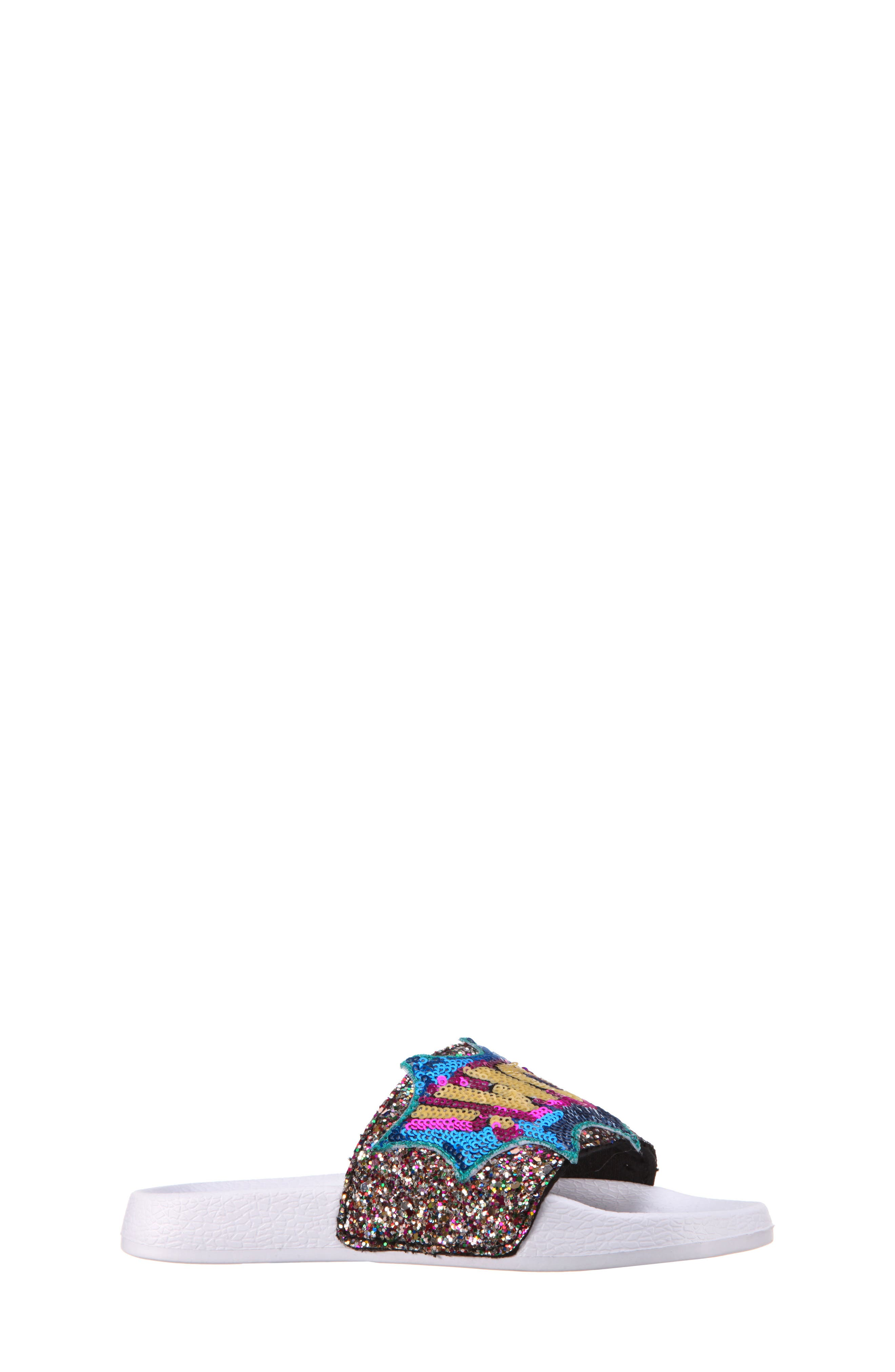 Sabreena2 Sequined Sport Slide,                             Main thumbnail 1, color,                             400