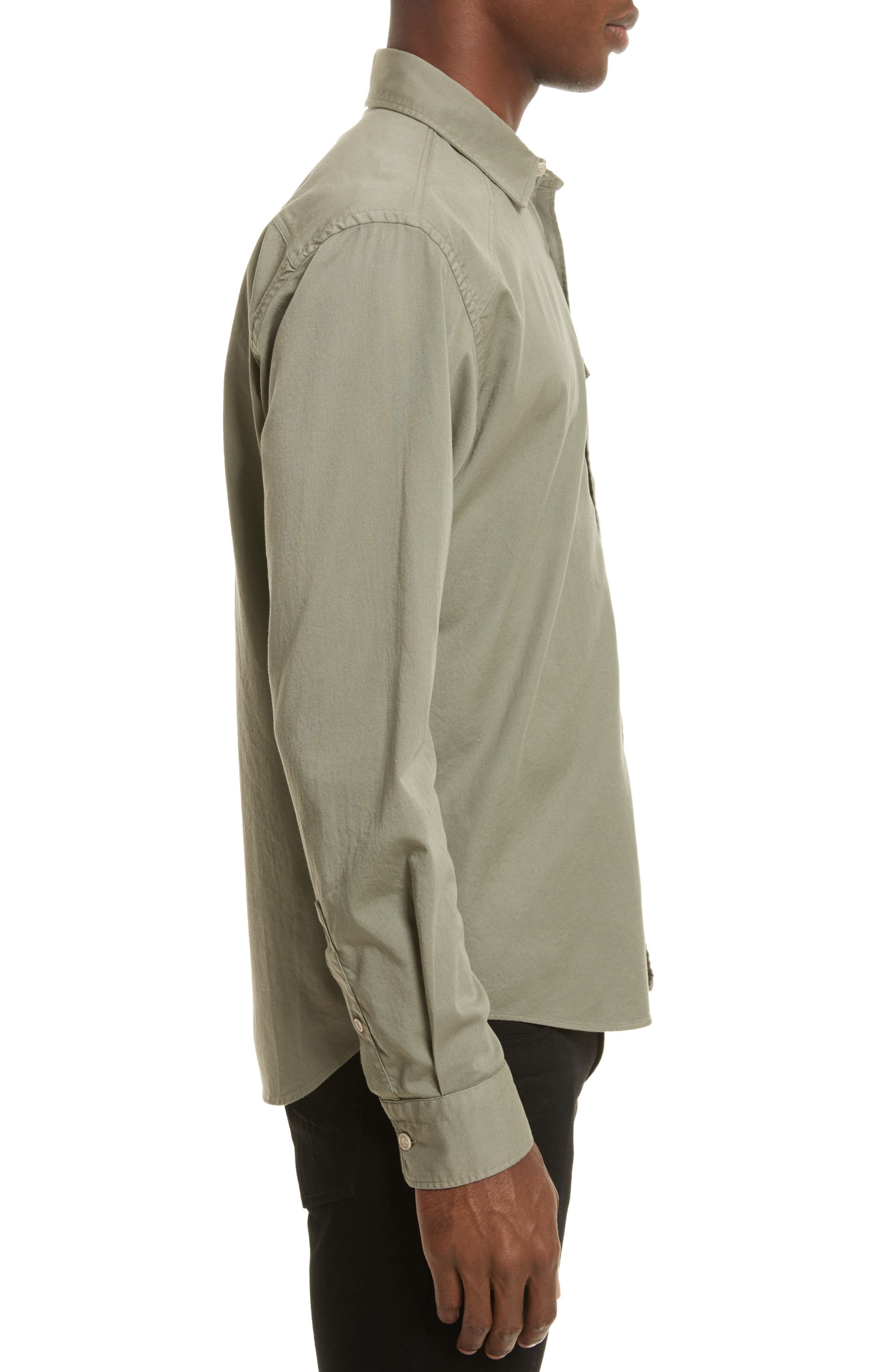 Steadway Extra Slim Fit Sport Shirt,                             Alternate thumbnail 3, color,                             033