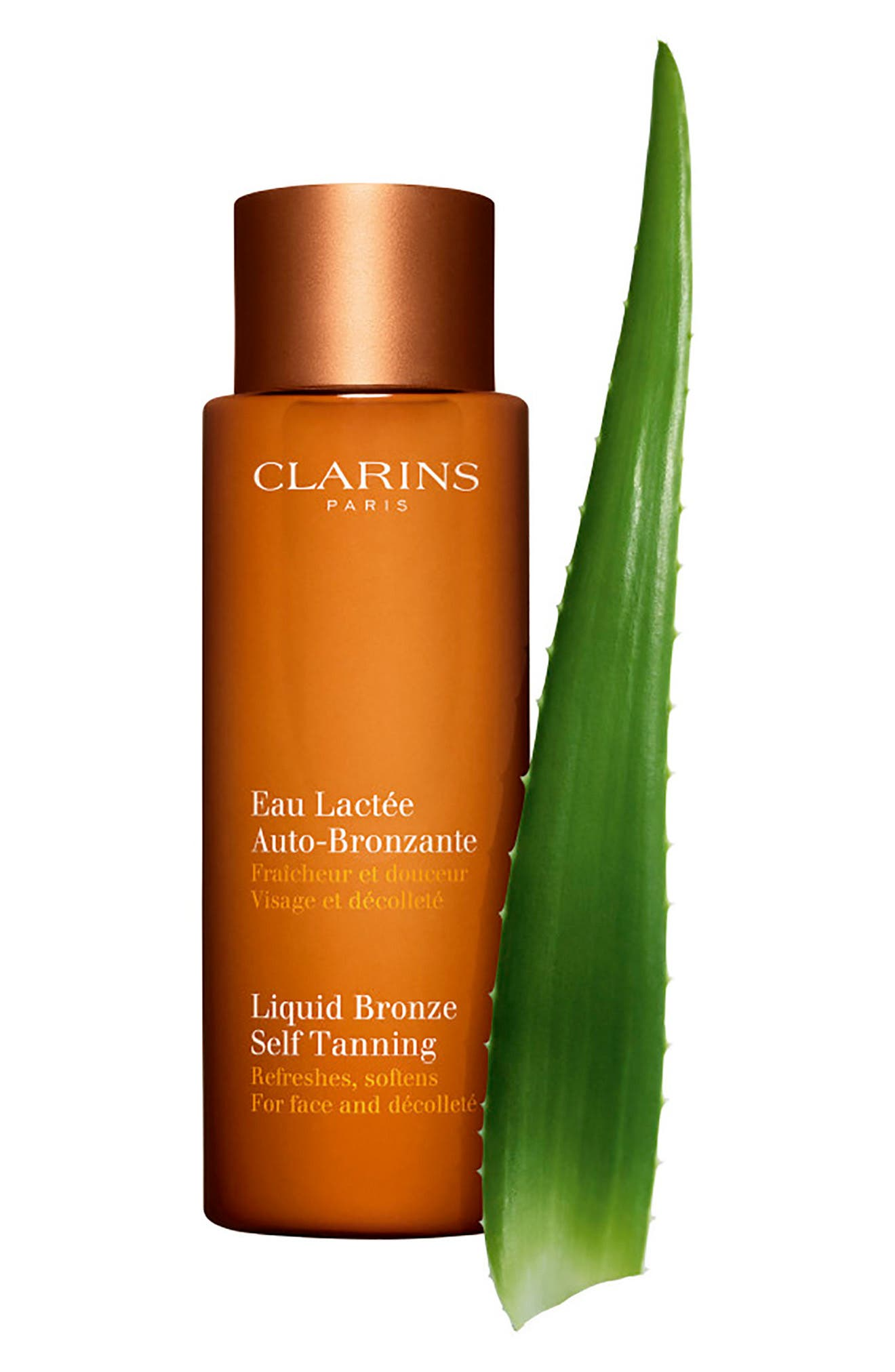 CLARINS,                             Liquid Bronze Self Tanner,                             Alternate thumbnail 2, color,                             NO COLOR