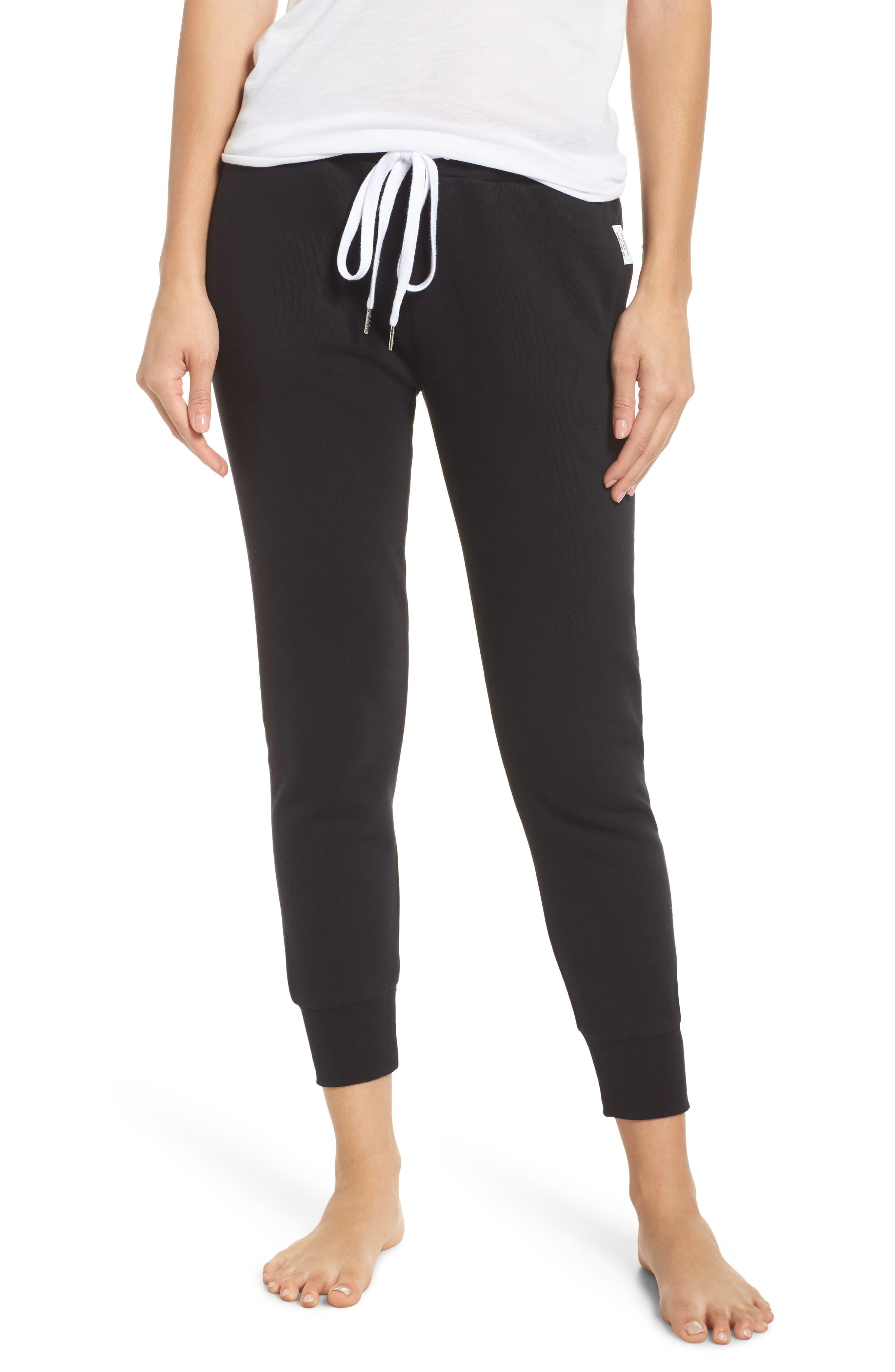 Lounge Pants,                             Main thumbnail 1, color,                             BLACK