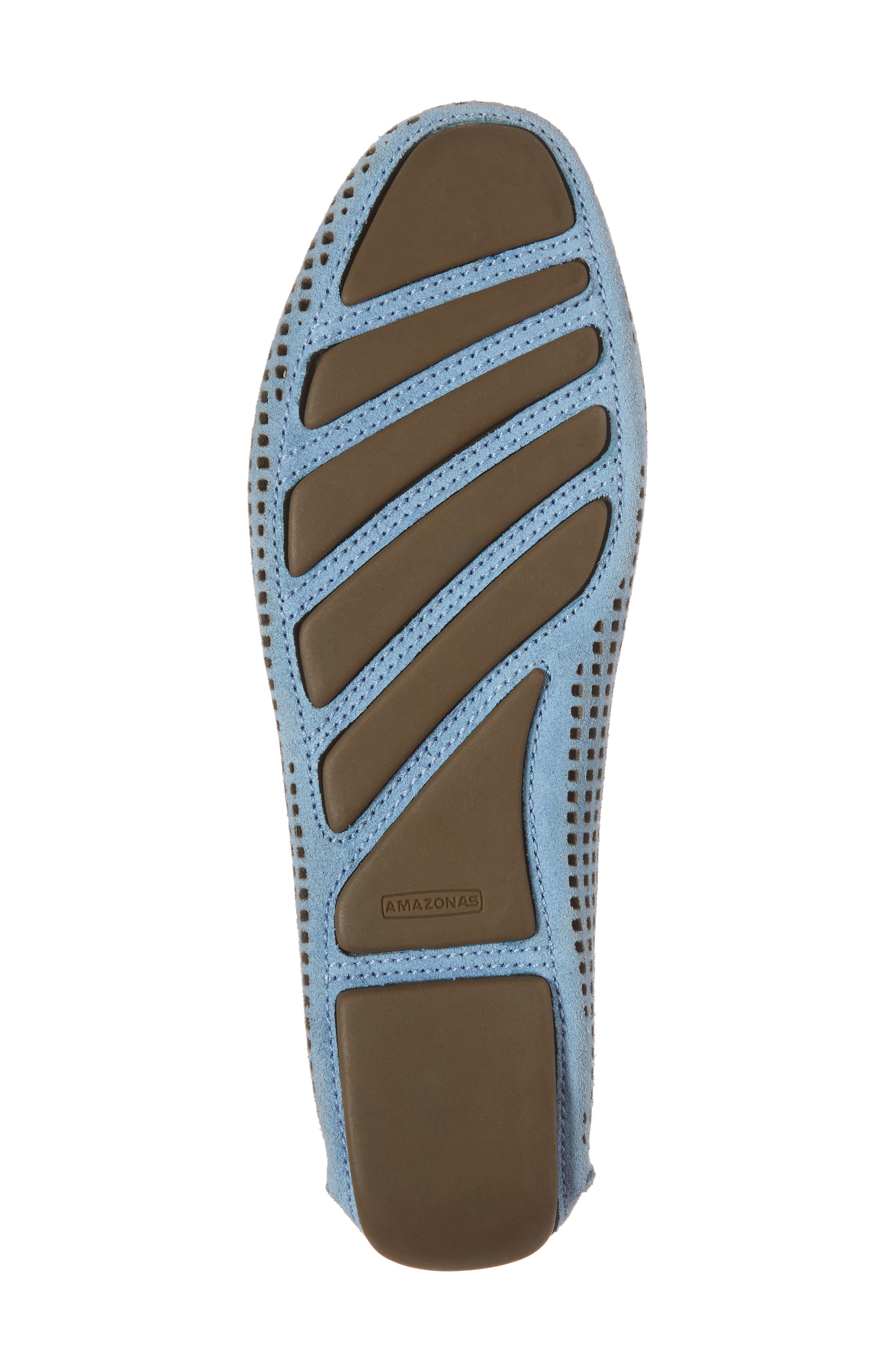 'Barrie' Flat,                             Alternate thumbnail 6, color,                             FRENCH BLUE SUEDE