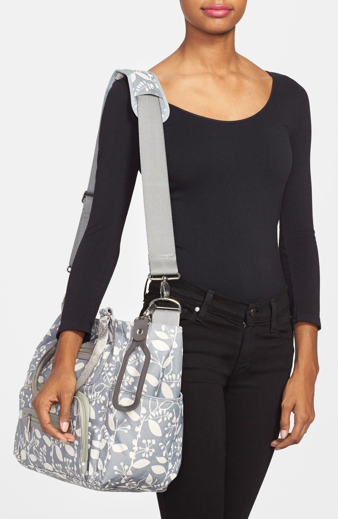 'Caprice' Diaper Bag,                             Alternate thumbnail 3, color,                             021