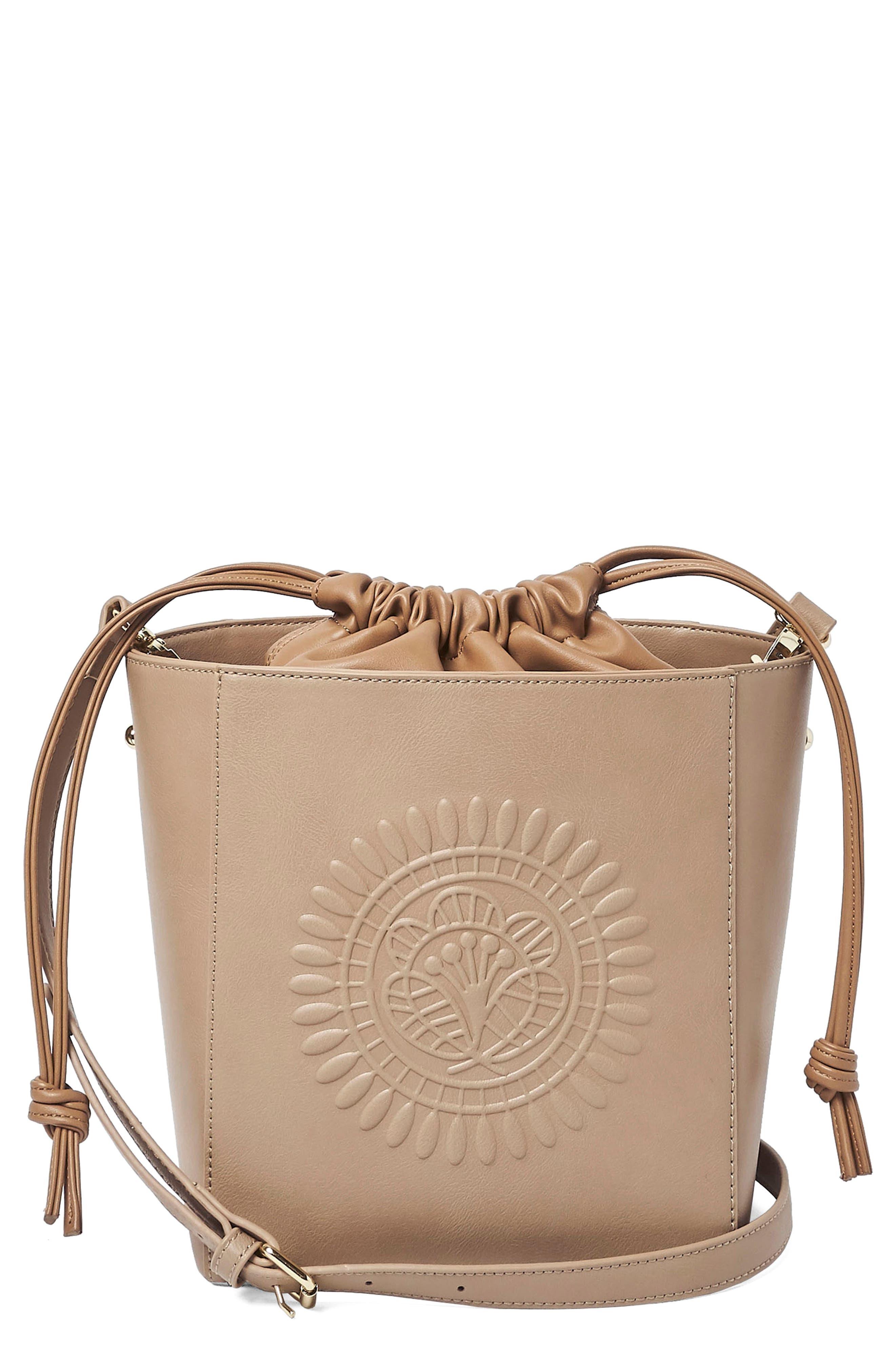 Wanderer Vegan Leather Bucket Bag,                             Main thumbnail 2, color,
