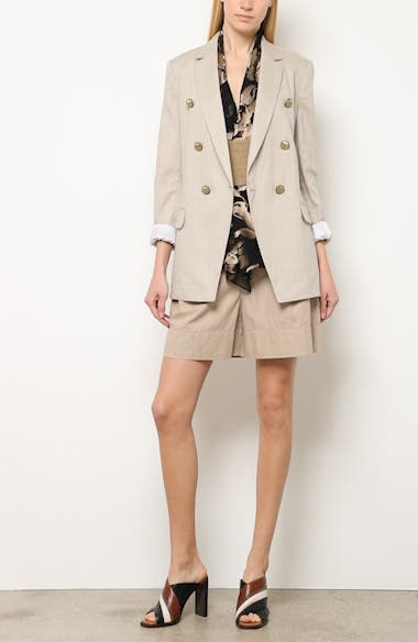 Chevron Weave Cotton & Linen Jacket, video thumbnail