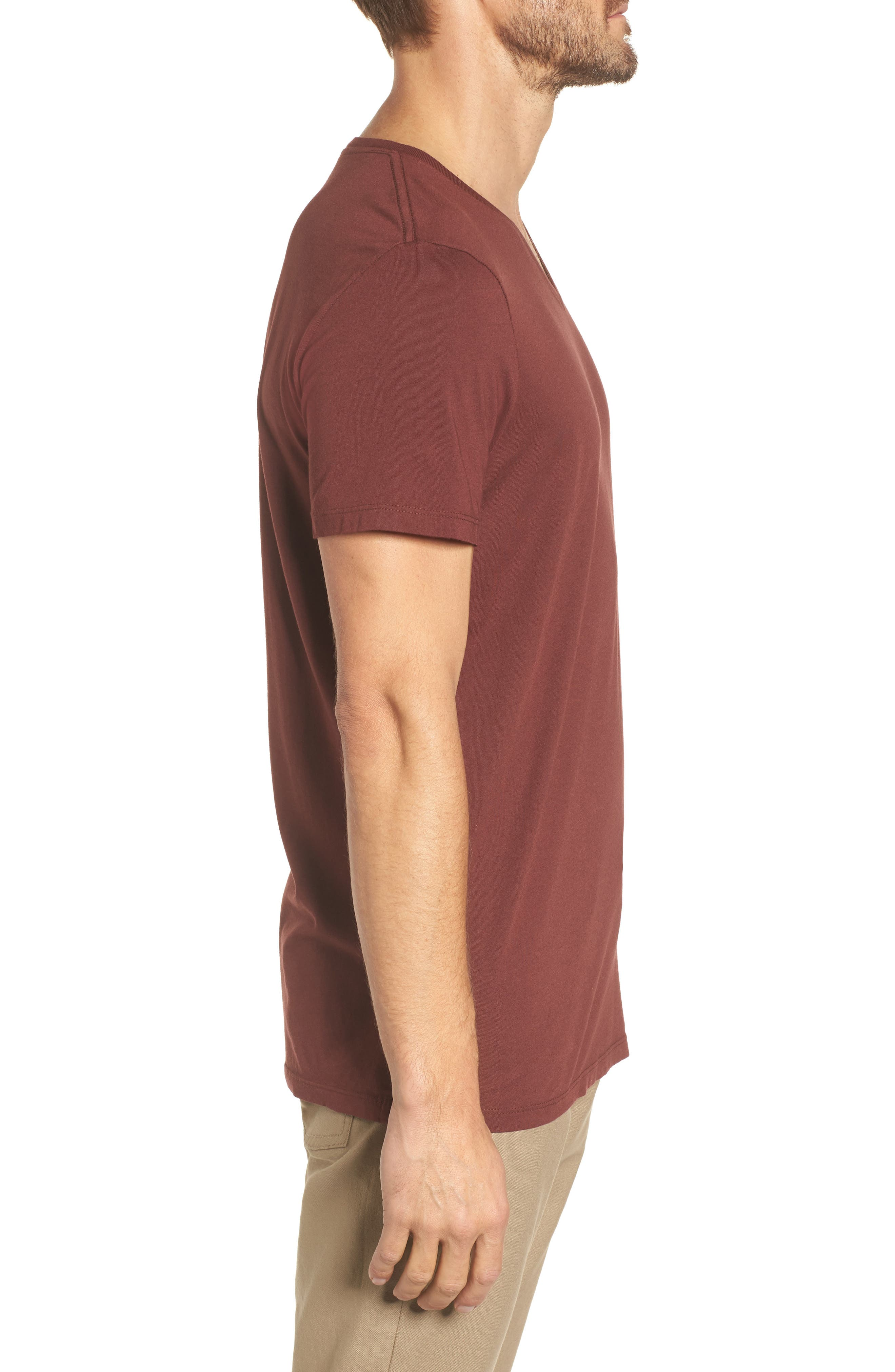 Bryce V-Neck T-Shirt,                             Alternate thumbnail 6, color,