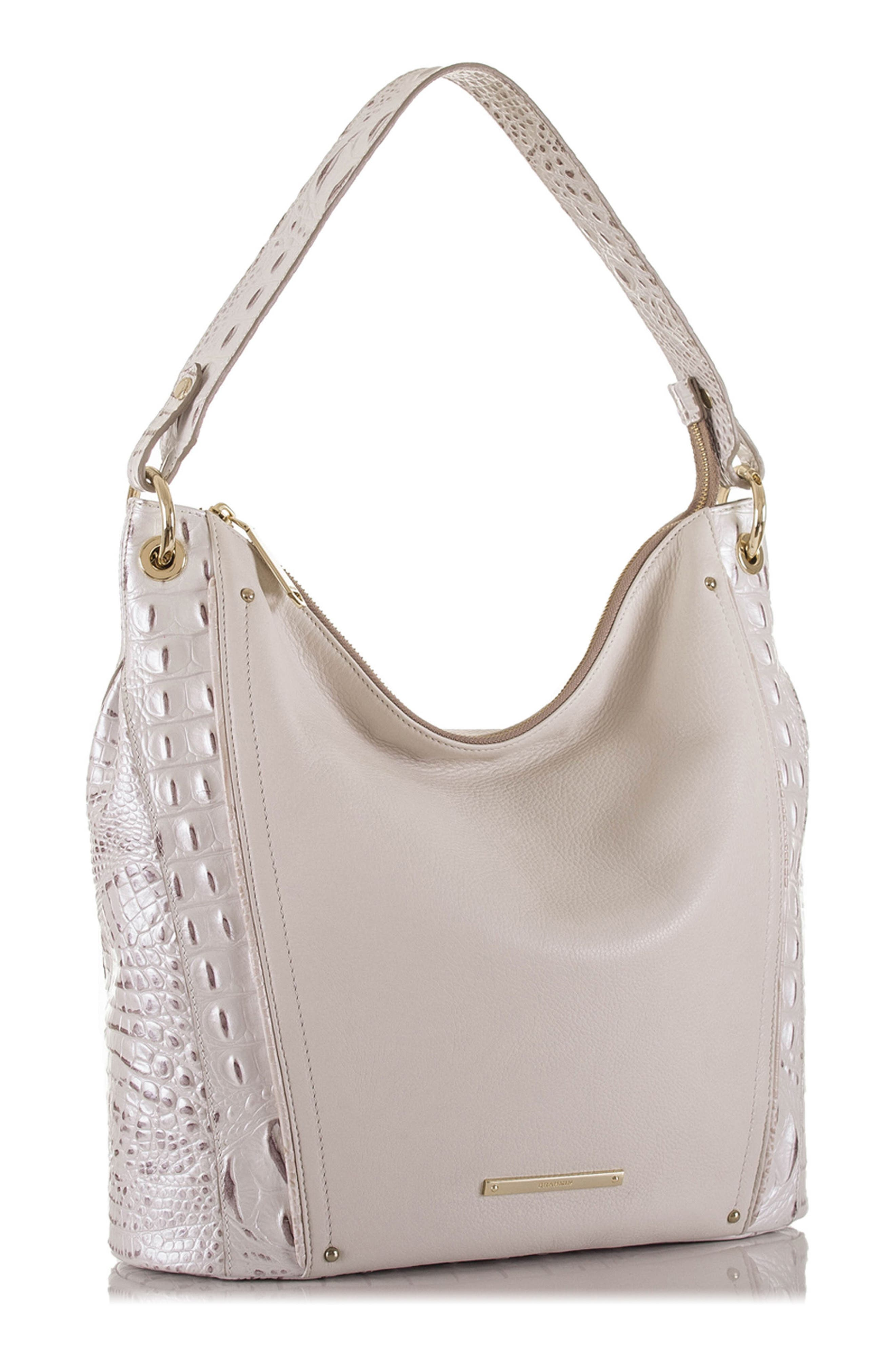 Sevi Leather Hobo,                             Alternate thumbnail 4, color,                             135