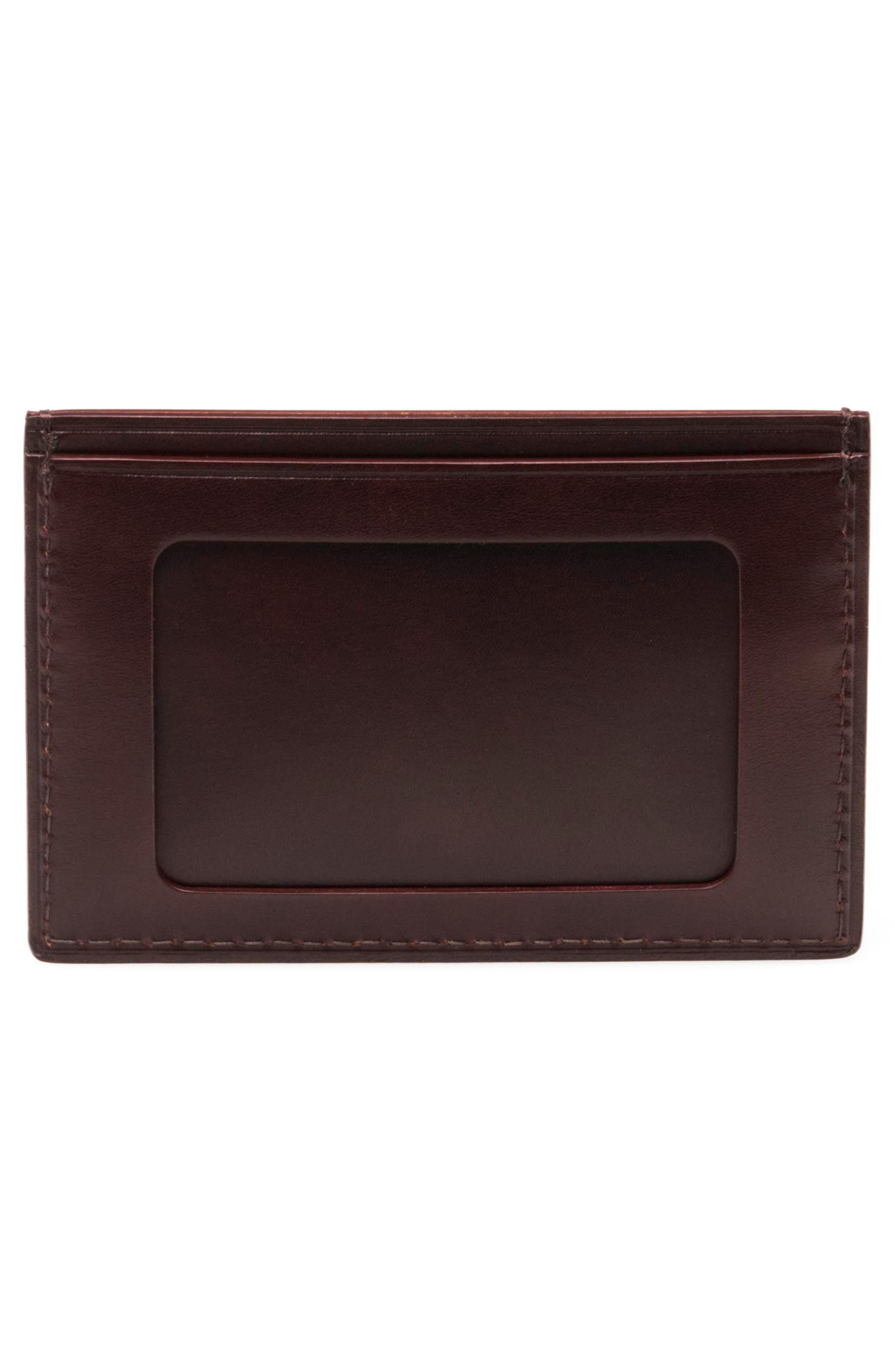 Leather Card Case,                             Alternate thumbnail 2, color,                             210