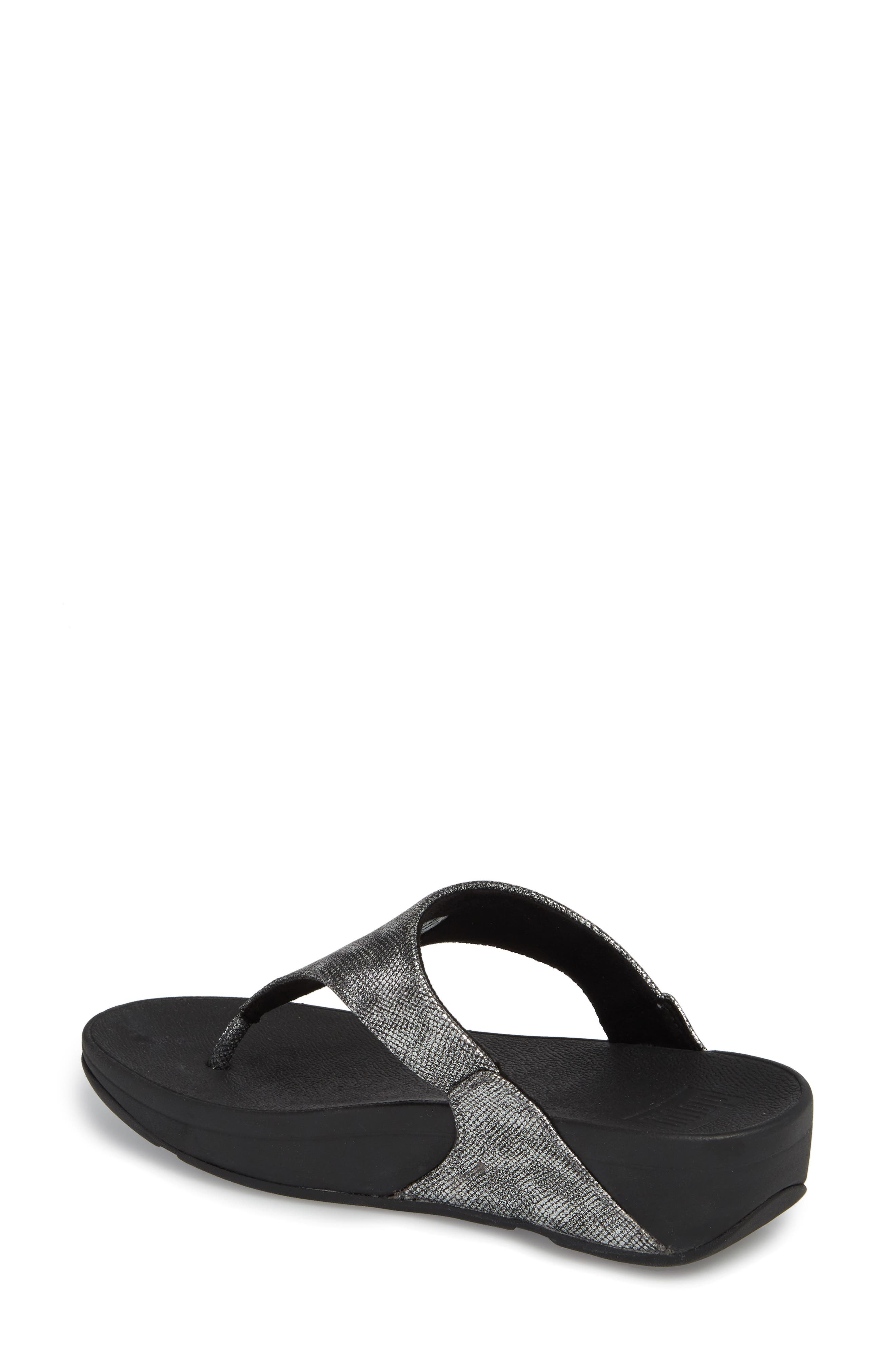 FITFLOP,                             Lulu Thong Sandal,                             Alternate thumbnail 2, color,                             004