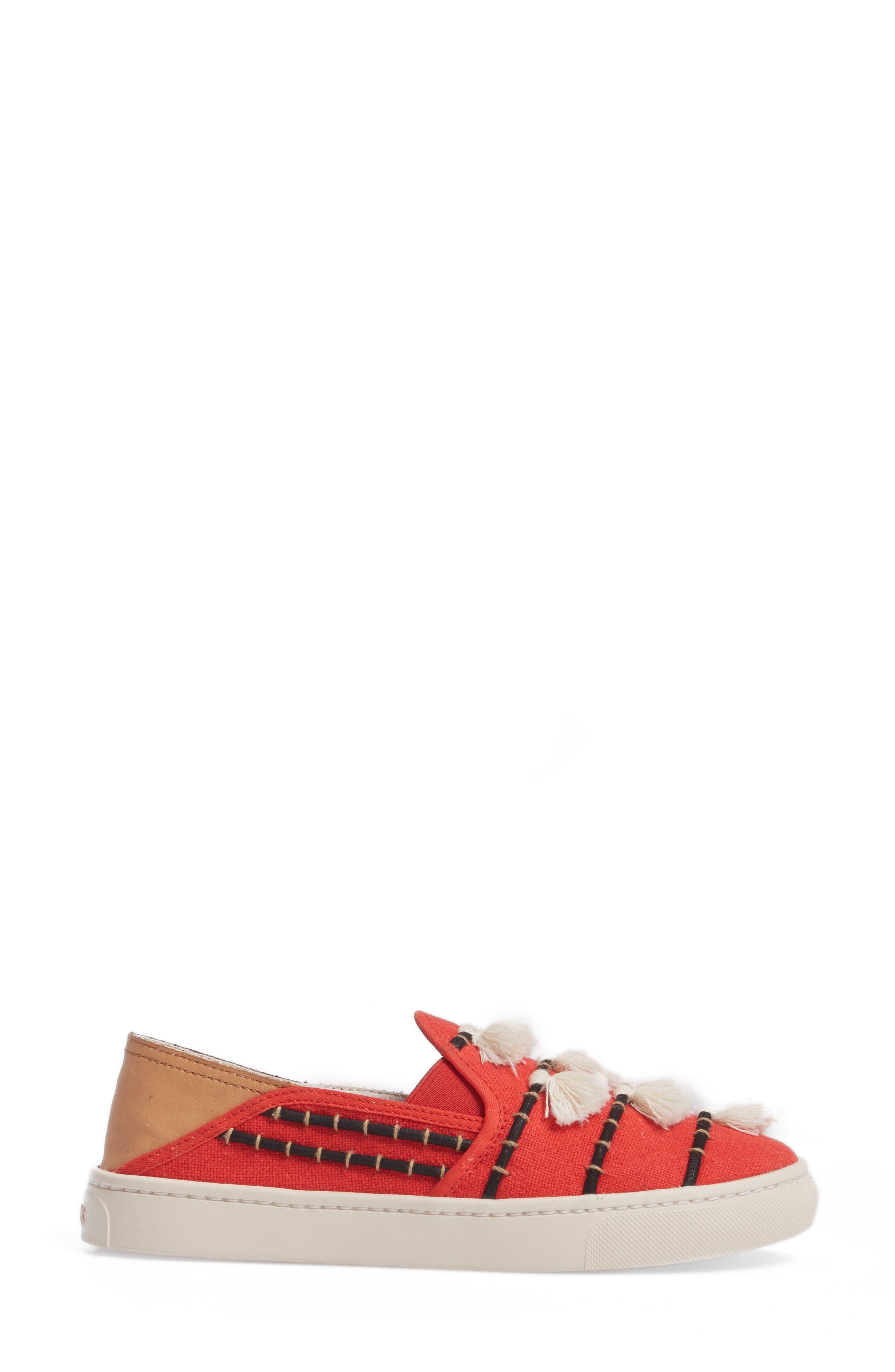 Tassel Slip-On Sneaker,                             Alternate thumbnail 3, color,                             603