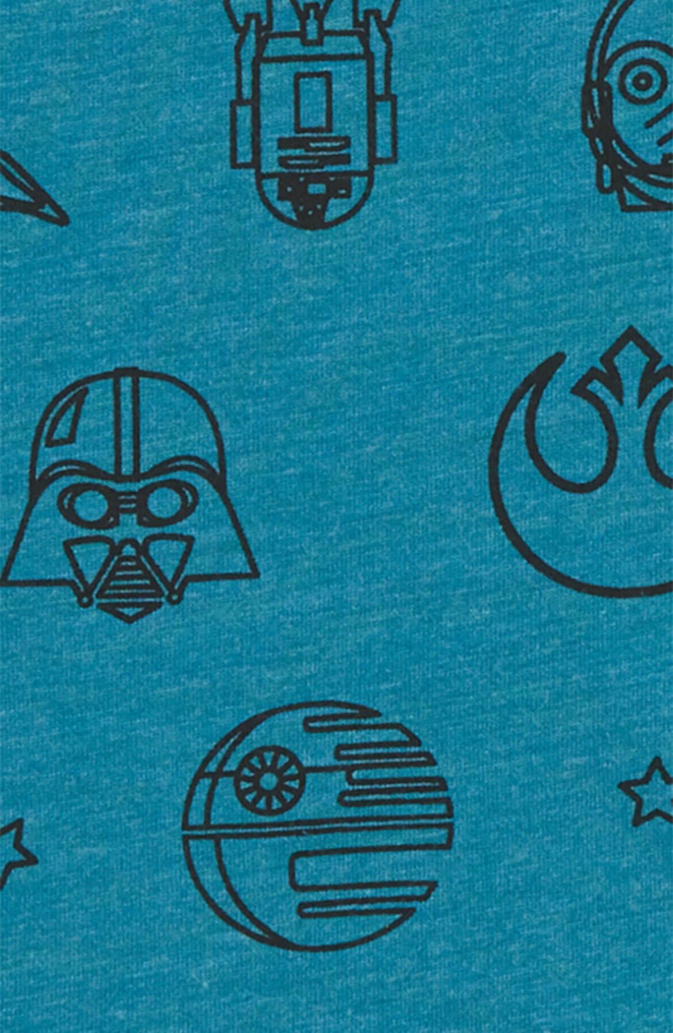 Star Wars Print T-Shirt,                             Alternate thumbnail 2, color,                             428