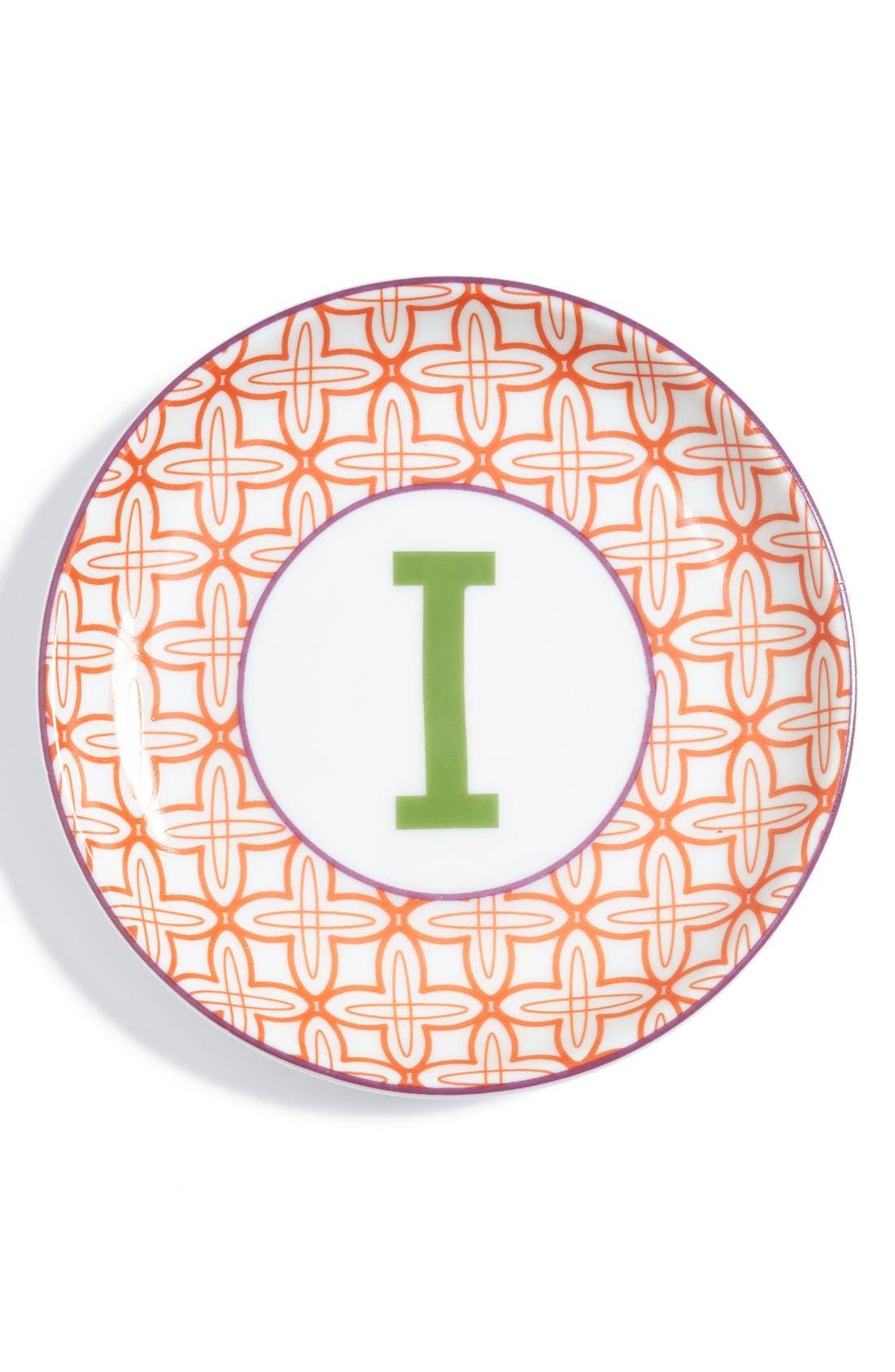 'L'Alphabet' Porcelain Tray,                             Main thumbnail 11, color,