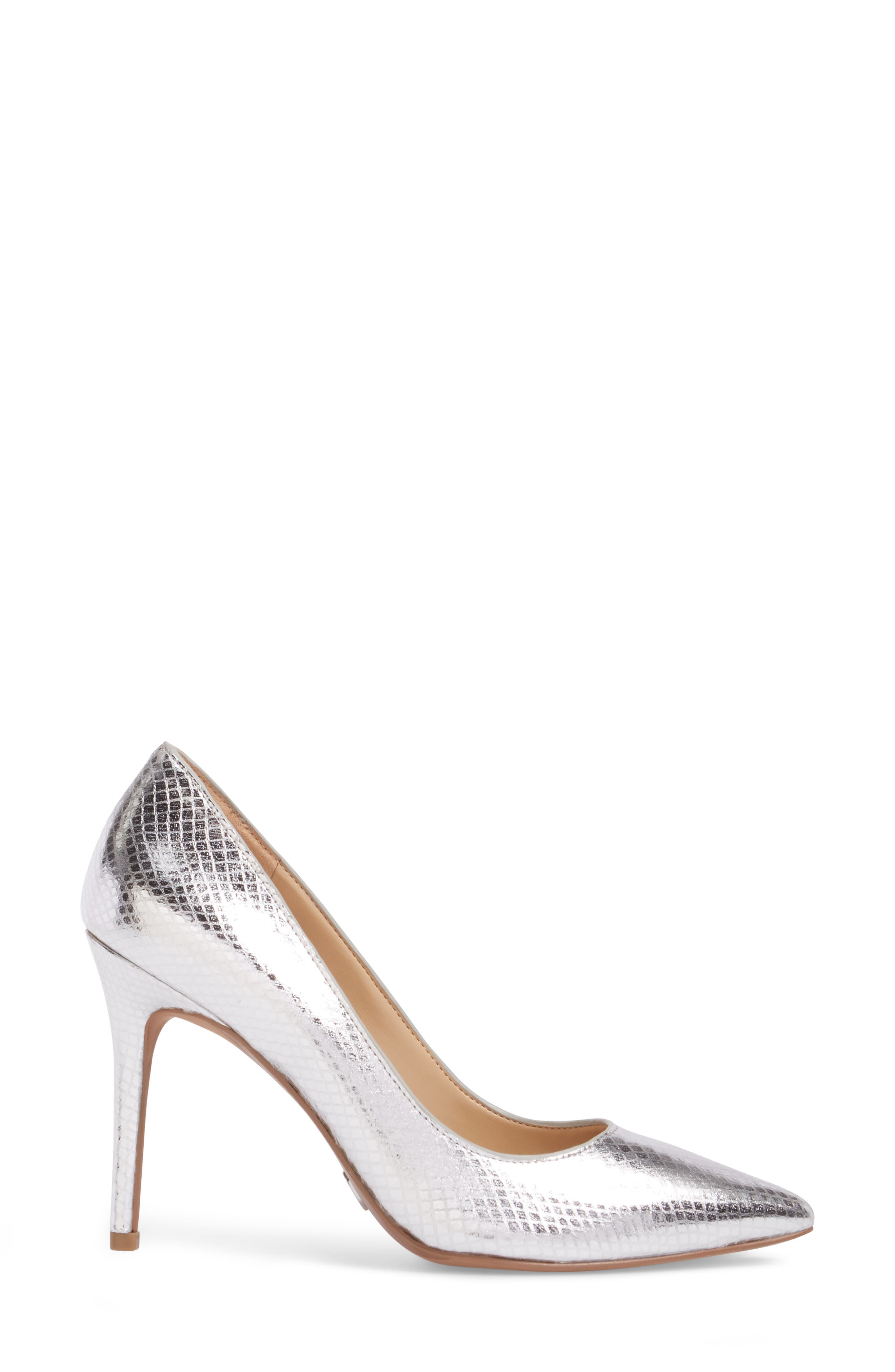 Claire Pointy Toe Pump,                             Alternate thumbnail 3, color,                             040