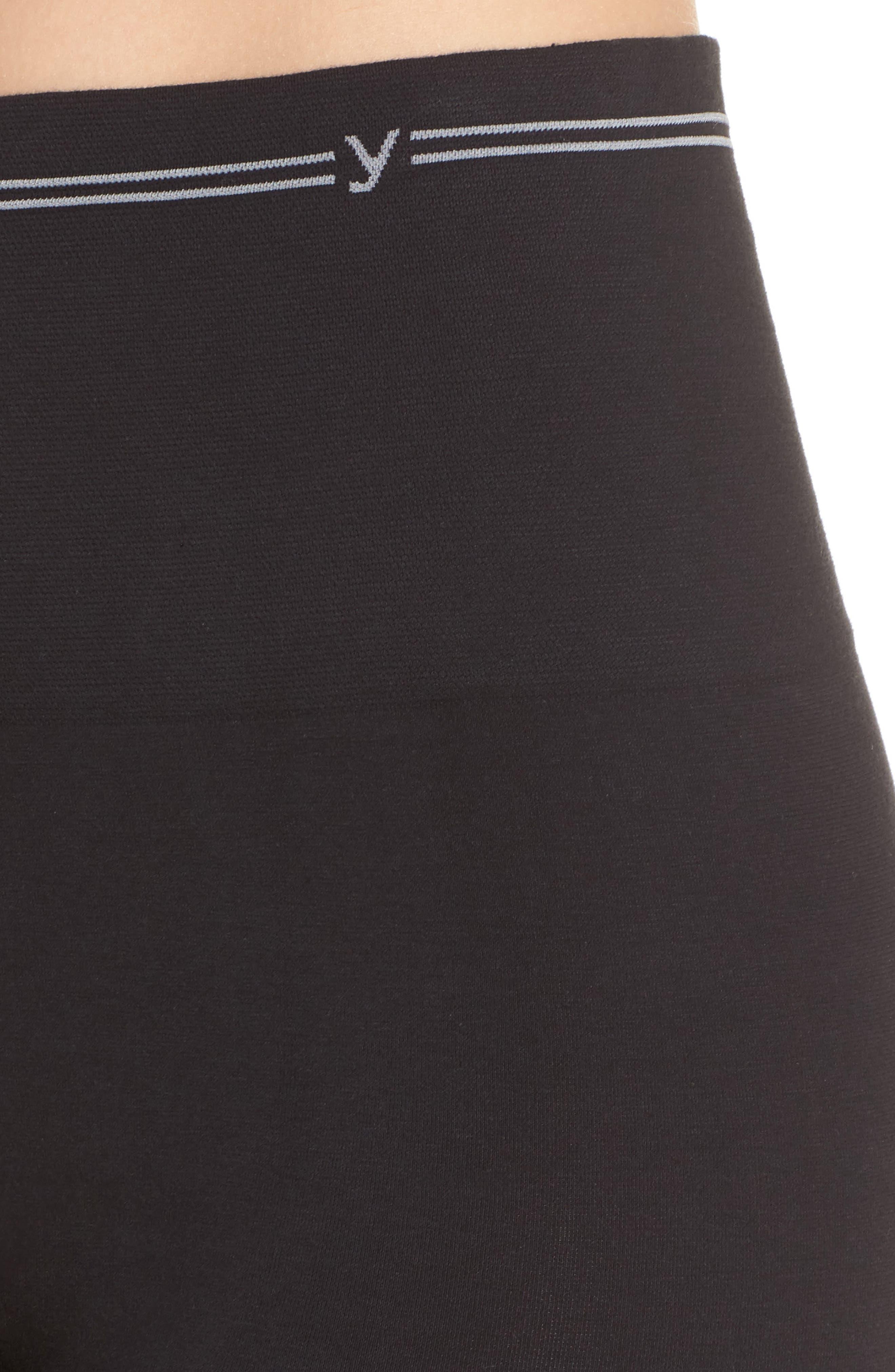 YUMMIE,                             Seamless Shaping Shorts,                             Alternate thumbnail 4, color,                             001