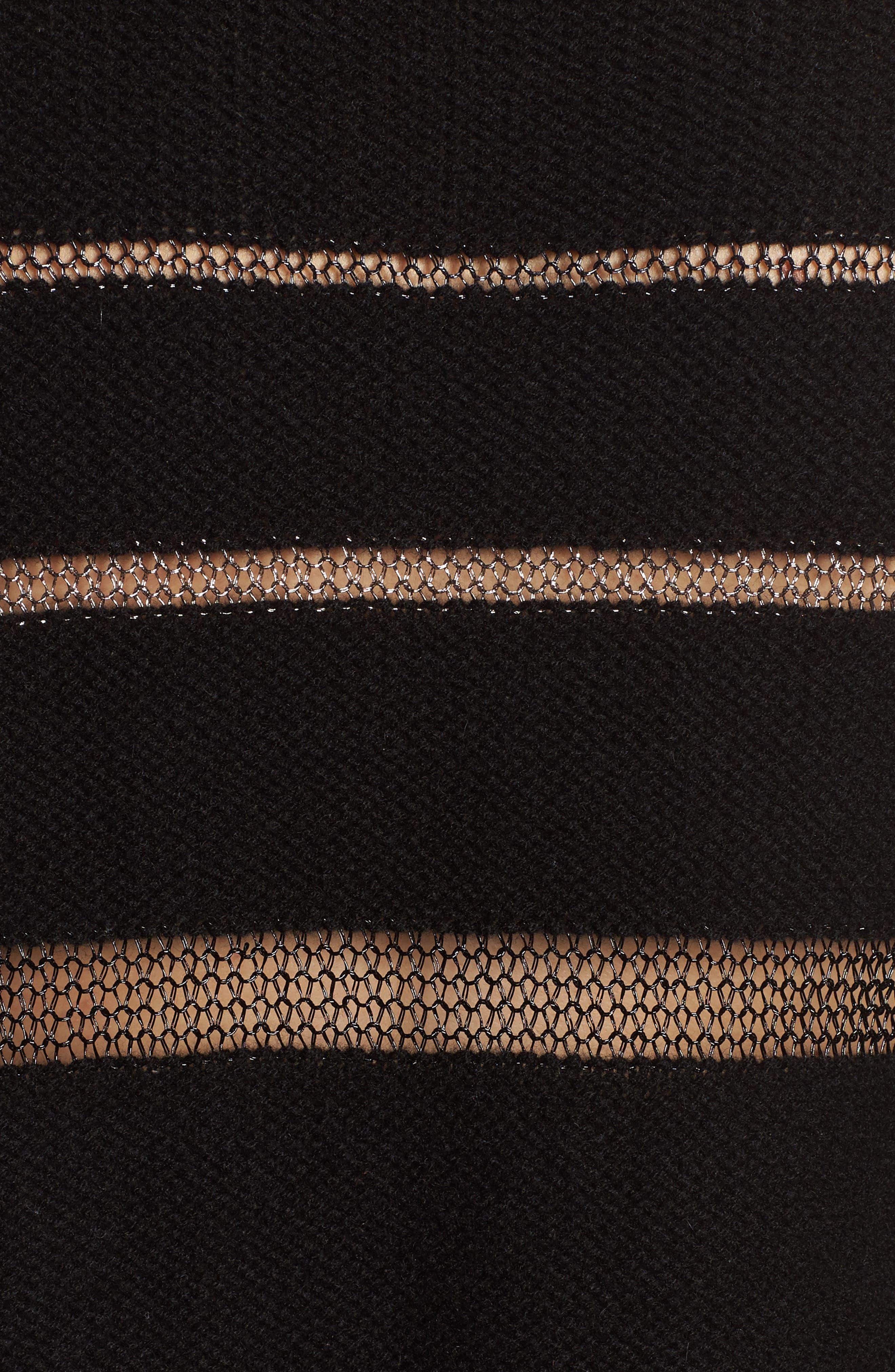Daphne Stripe Sweater,                             Alternate thumbnail 5, color,                             005