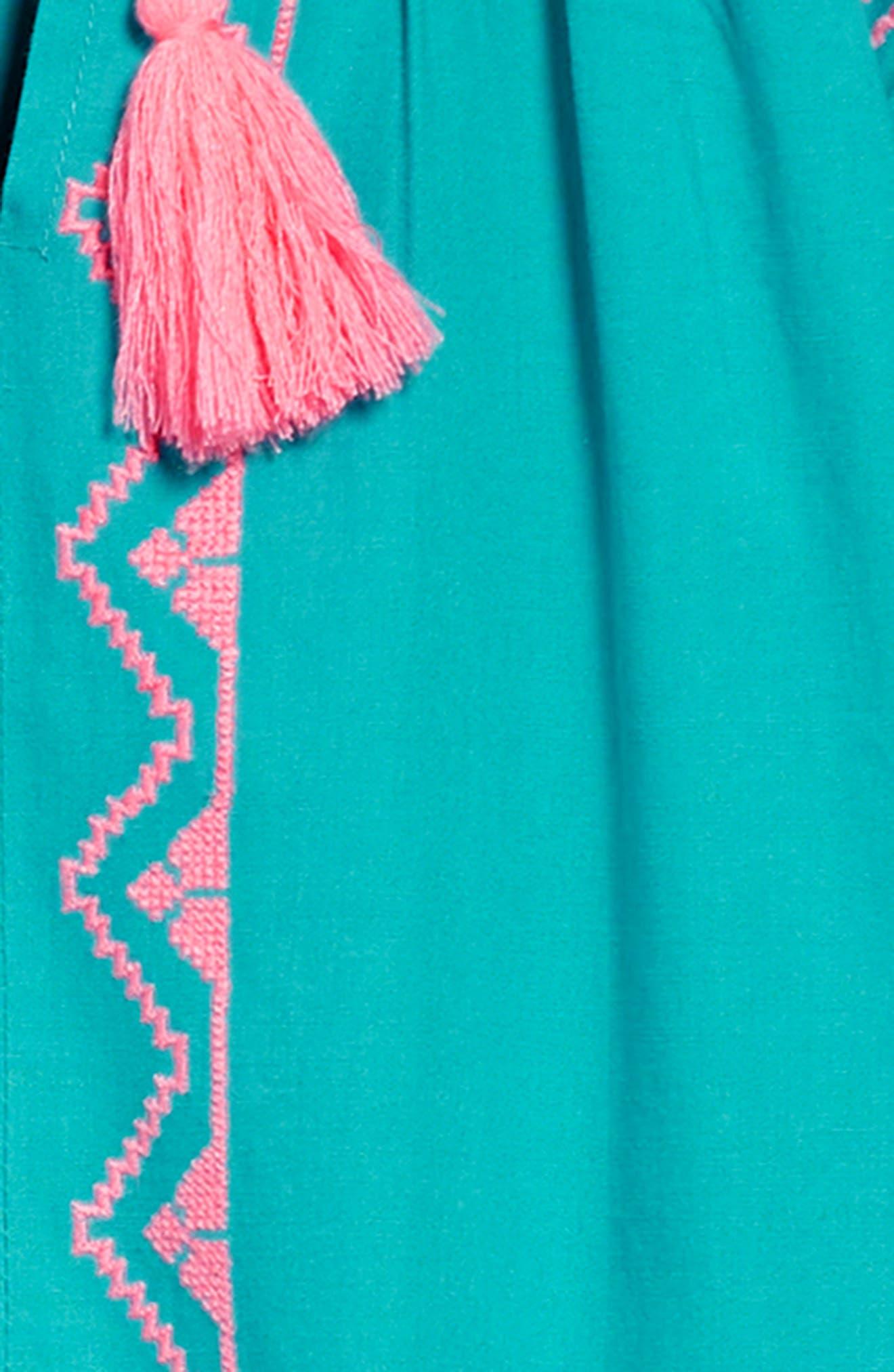 Kellie Embroidered Dress,                             Alternate thumbnail 3, color,                             440