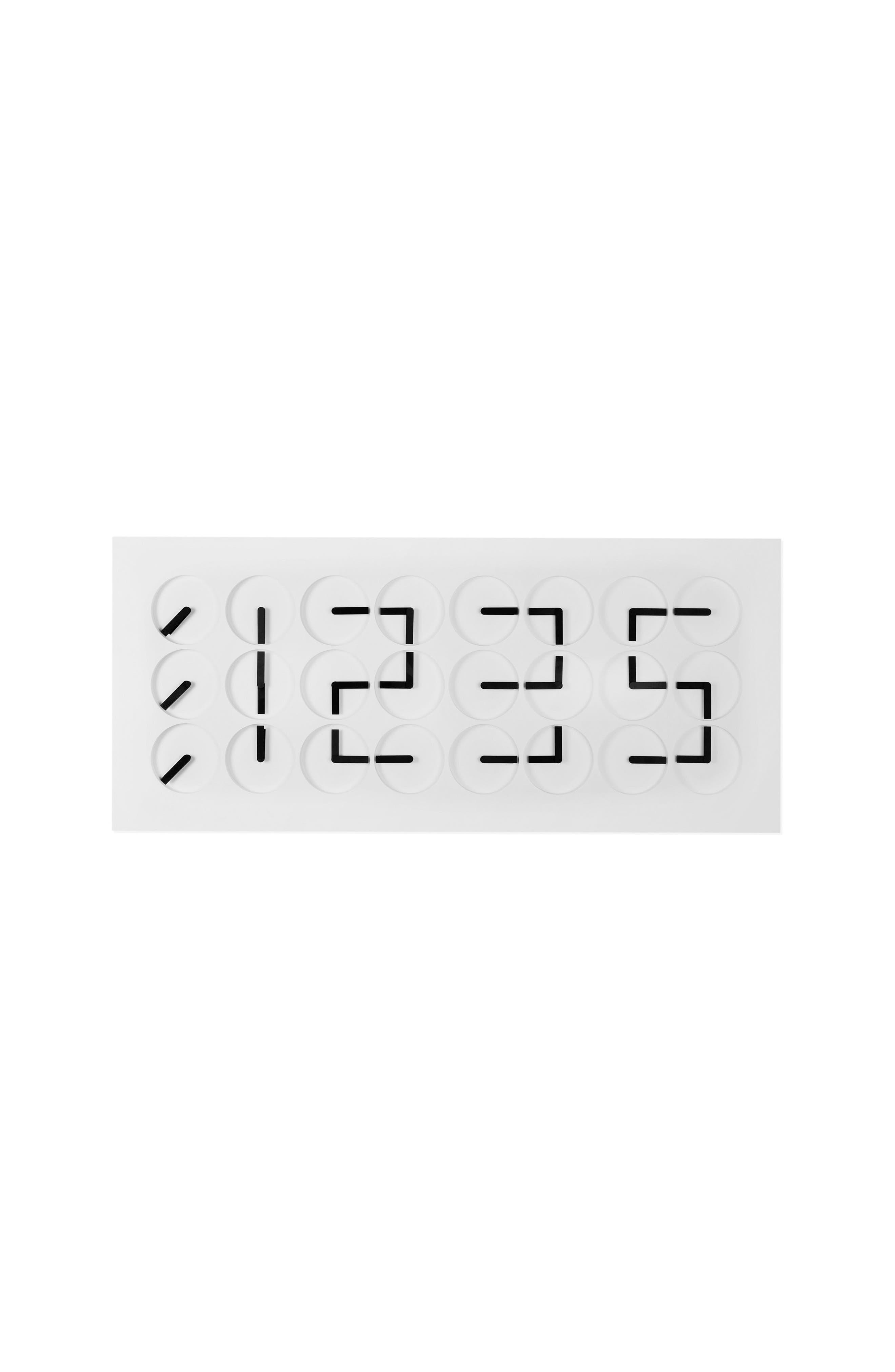 ClockClock 24 Digital Clock,                             Alternate thumbnail 4, color,                             100