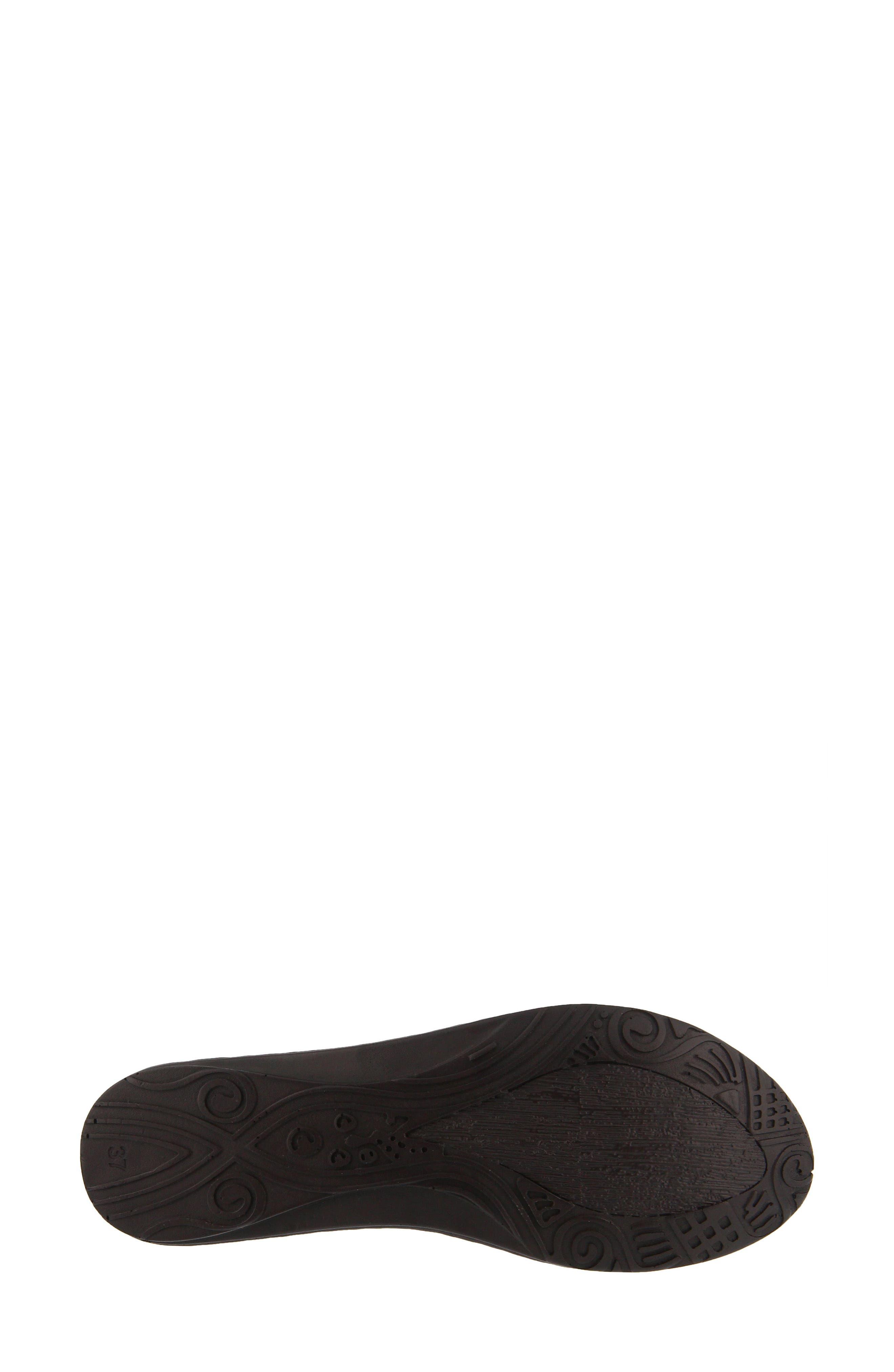 Jordana Slingback Sandal,                             Alternate thumbnail 5, color,                             BLACK LEATHER