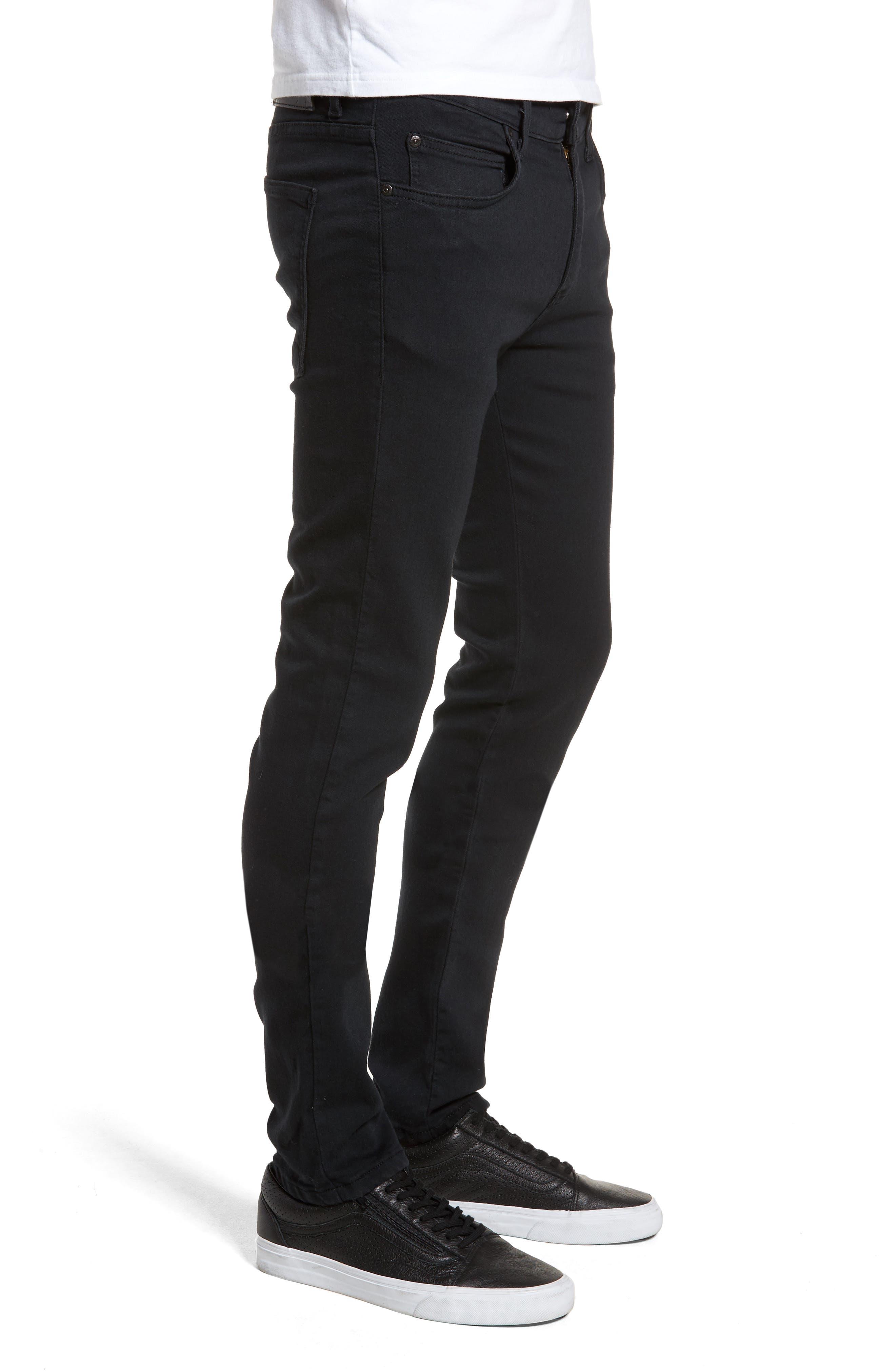 Super Skinny Guy Skinny Fit Jeans,                             Alternate thumbnail 3, color,