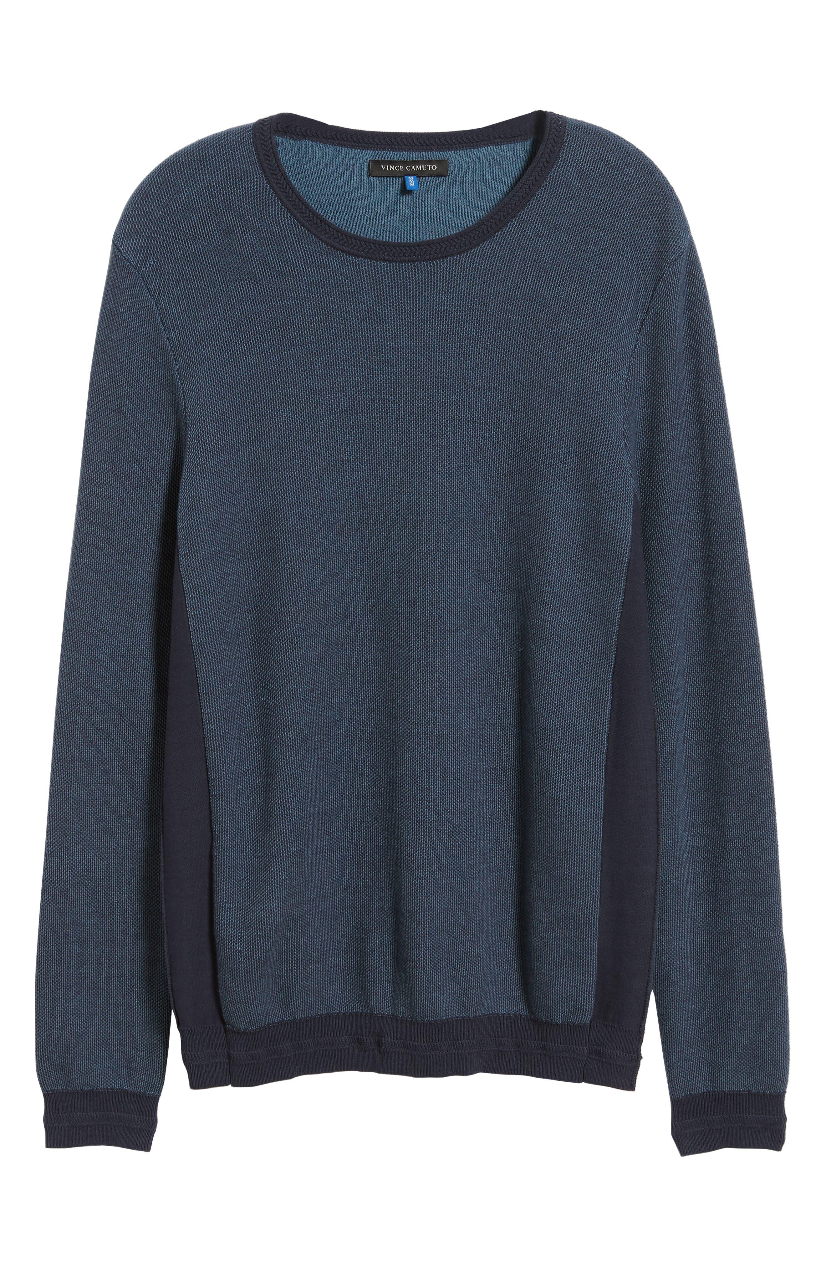 Space Dye Slim Fit Sweater,                             Alternate thumbnail 17, color,