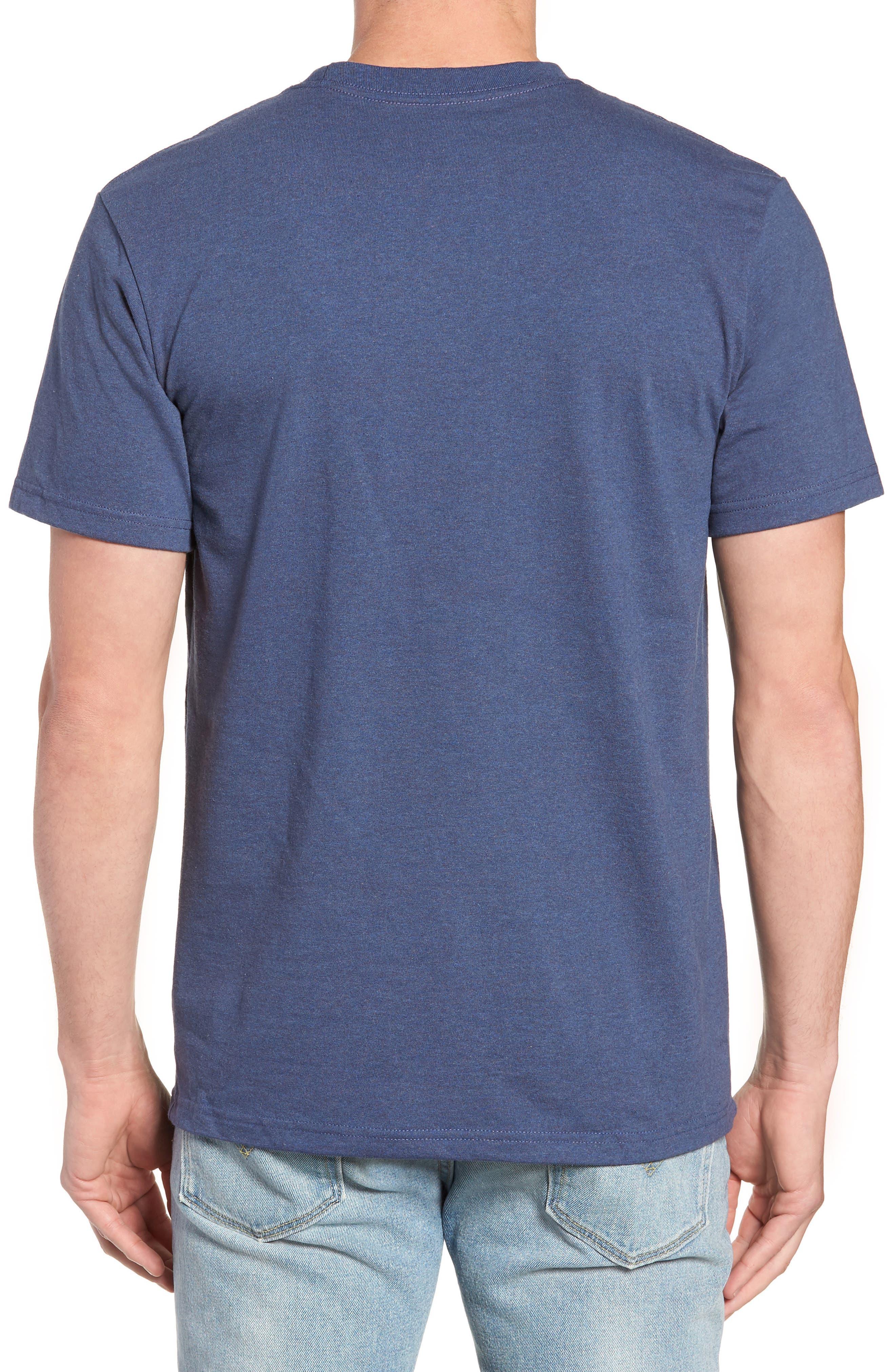 Shop Sticker Responsibili-Tee T-Shirt,                             Alternate thumbnail 2, color,                             DOLOMITE BLUE