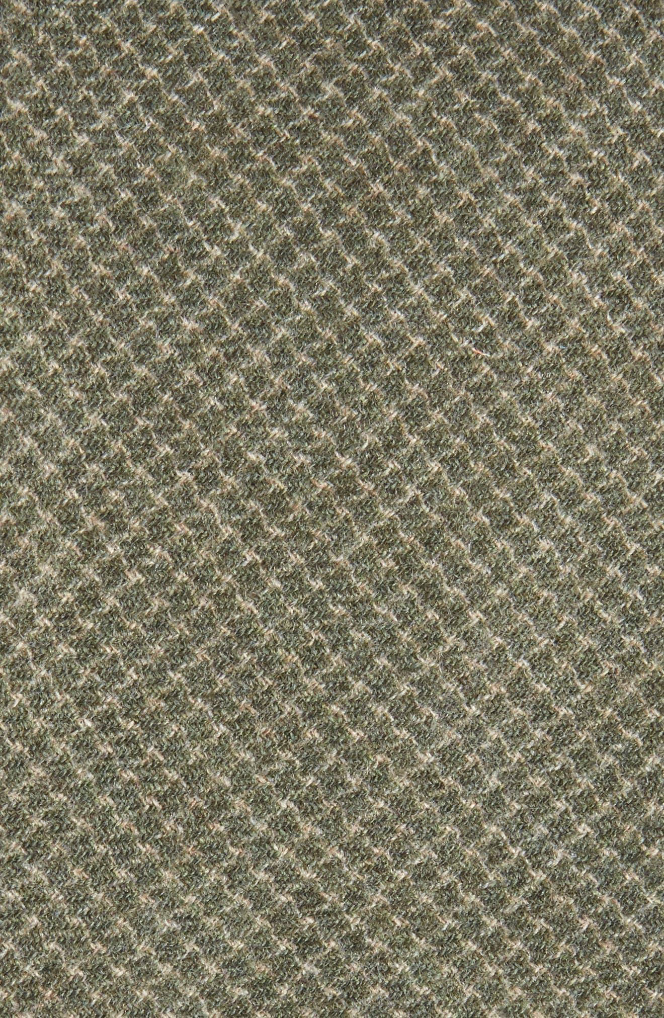 Geometric Wool Tie,                             Alternate thumbnail 5, color,