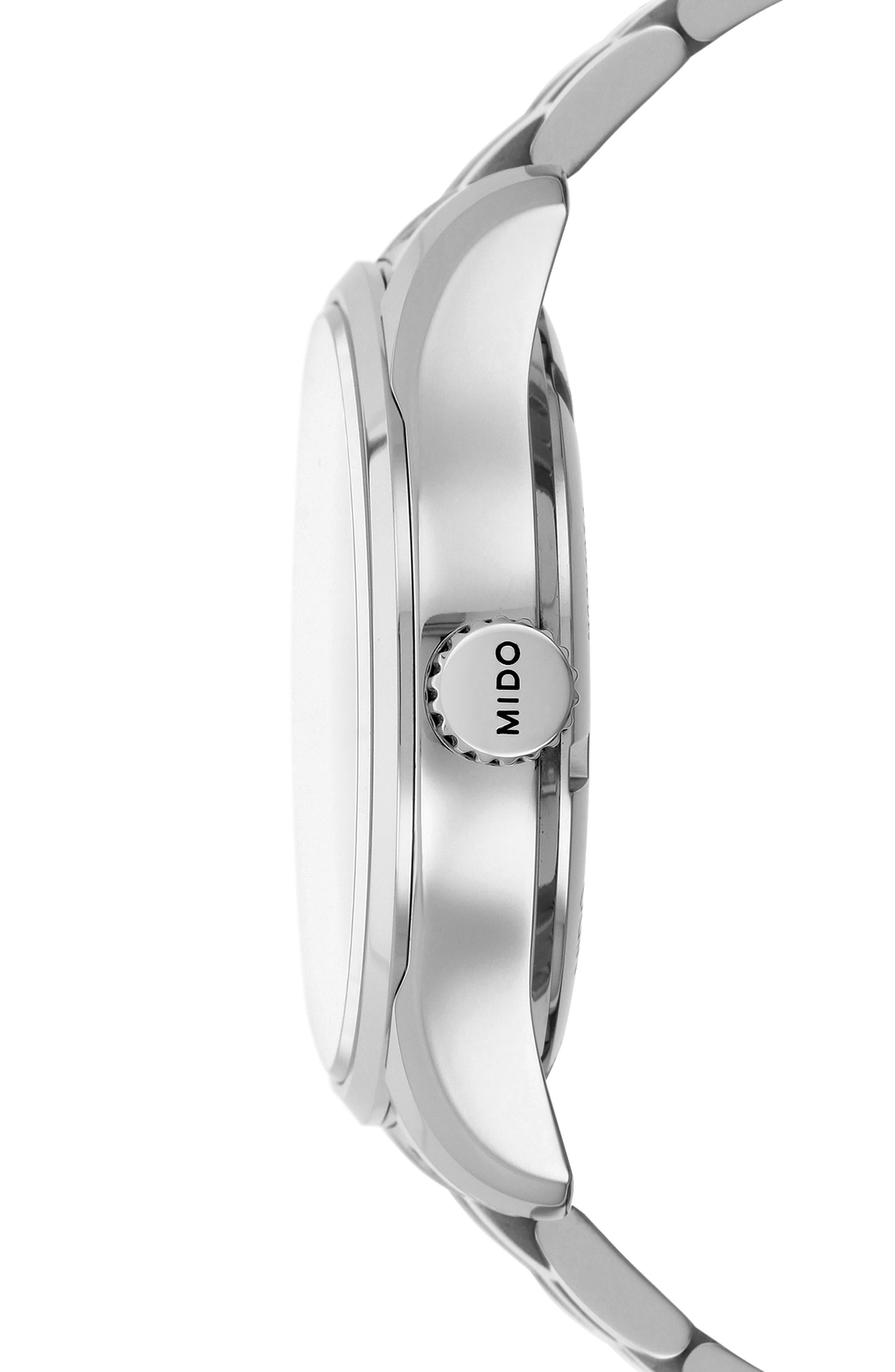 Belluna II Bracelet Watch, 40mm,                             Alternate thumbnail 3, color,                             040