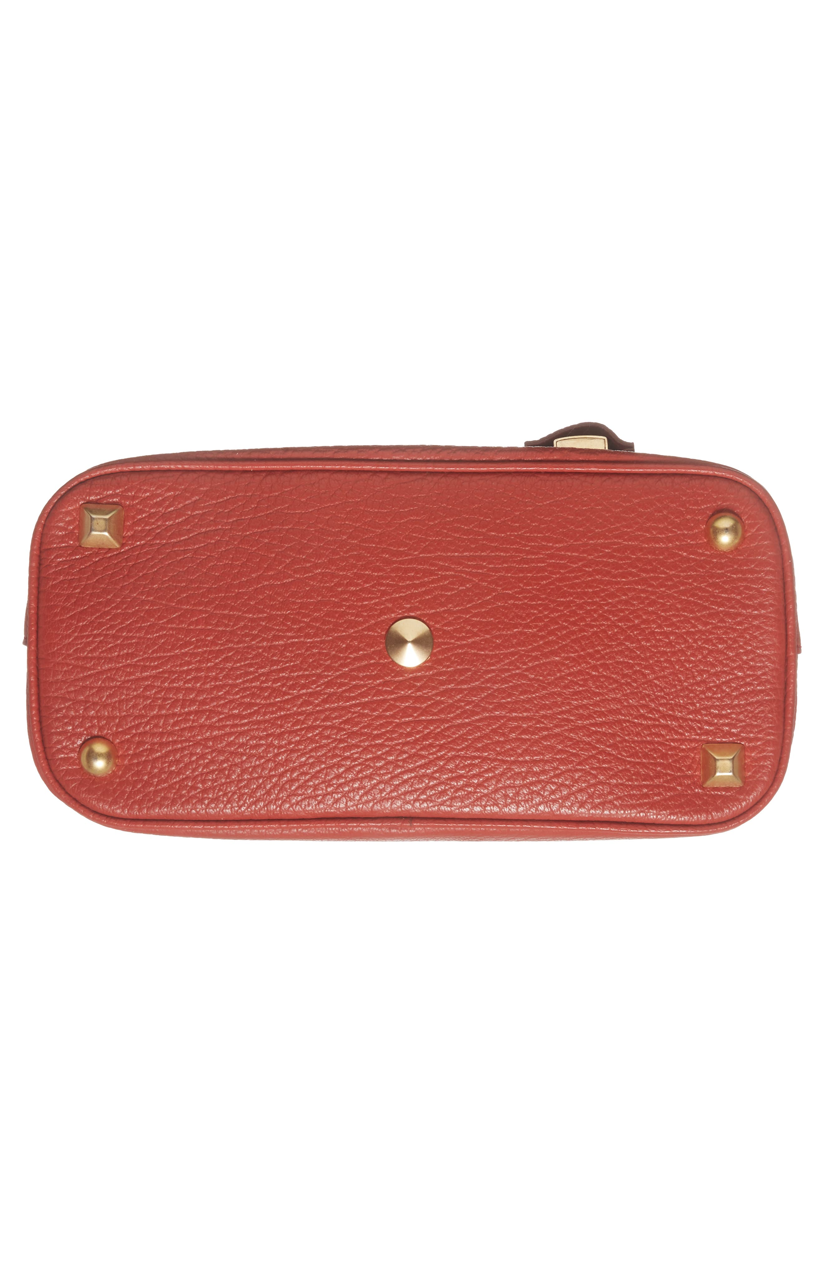 Small 5AC Calfskin Leather Handbag,                             Alternate thumbnail 7, color,                             600