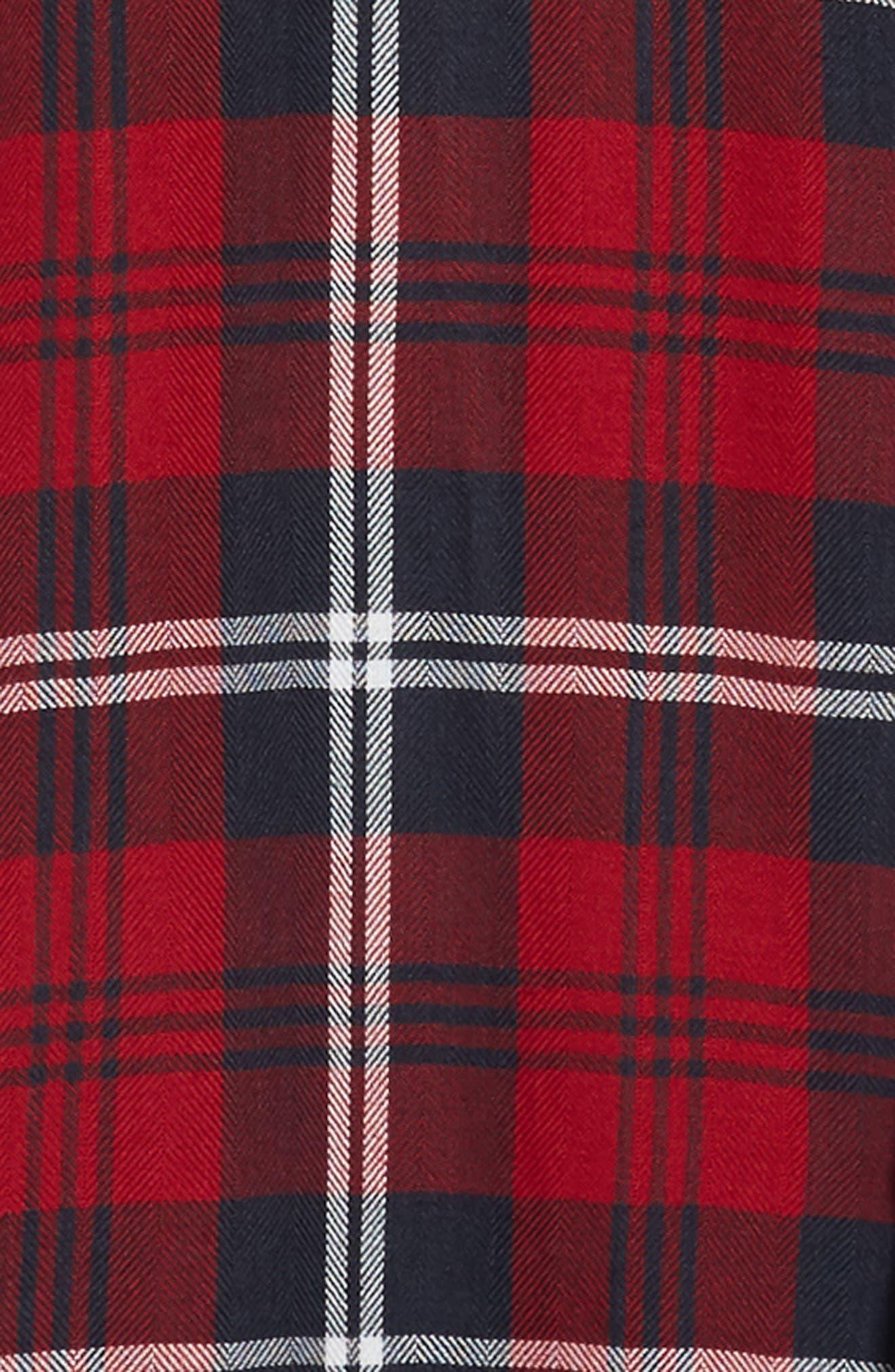 RAILS,                             Lennox Sport Shirt,                             Alternate thumbnail 6, color,                             RED/ NAVY/ WHITE