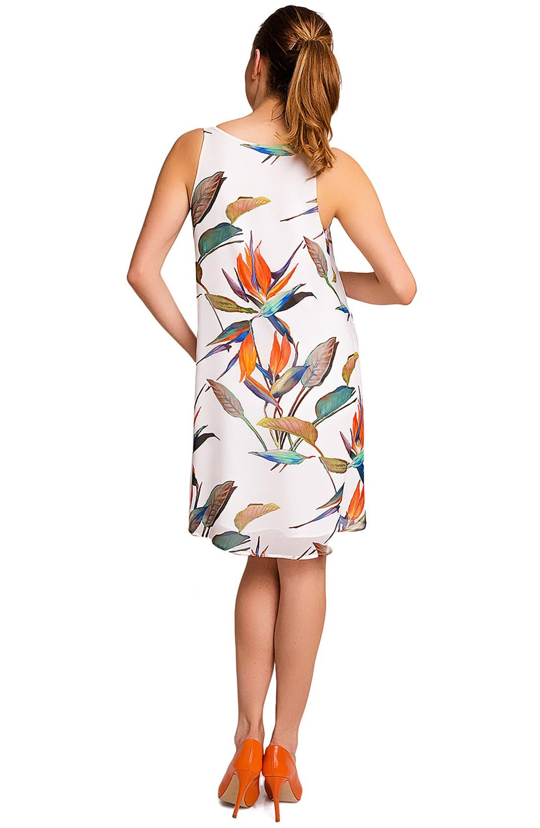 'Lago di Garda' Print Maternity Dress,                             Alternate thumbnail 2, color,                             051