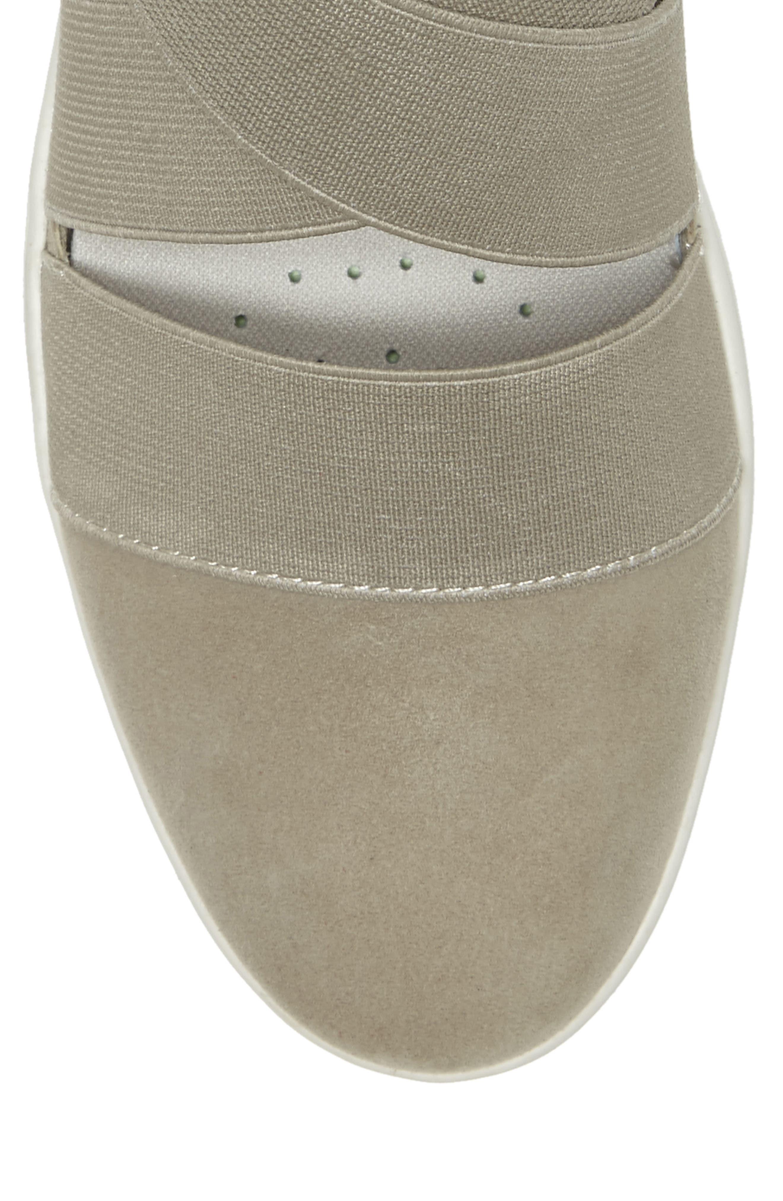 Alskara Slip-On Sneaker Flat,                             Alternate thumbnail 7, color,                             BRINDLE SUEDE