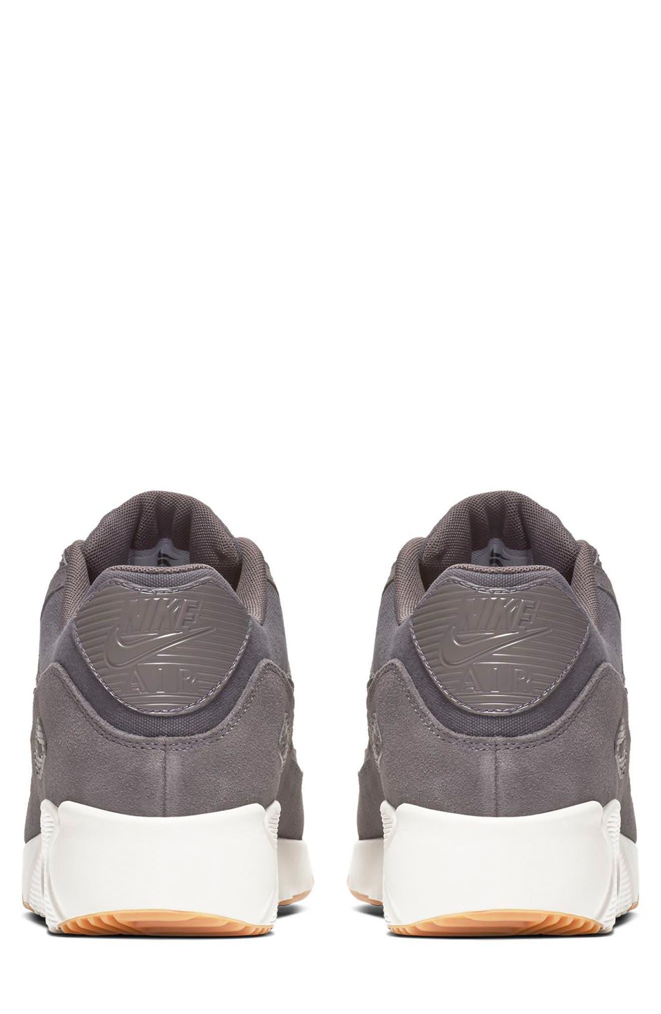 Air Max 90 Ultra 2.0 Sneaker,                             Alternate thumbnail 5, color,                             THUNDER GREY/ GREY/ LIGHT BONE