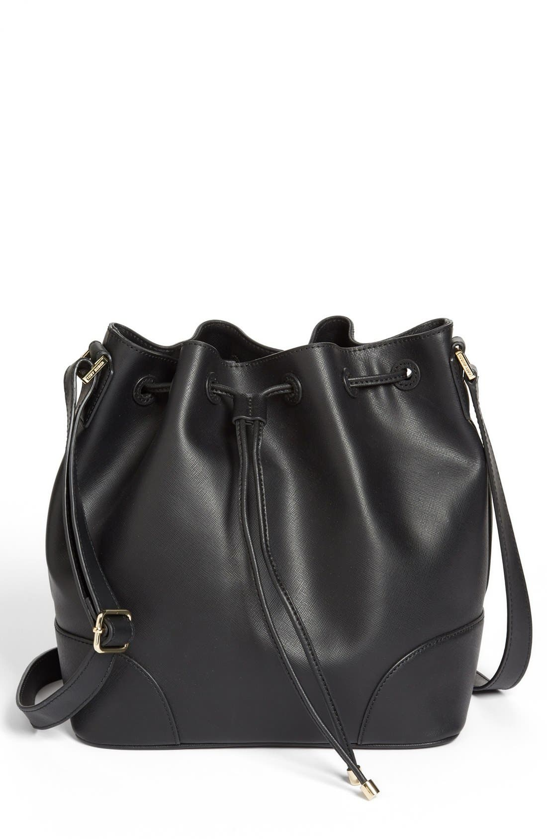 'Robinson' Drawstring Bucket Bag,                         Main,                         color, 001