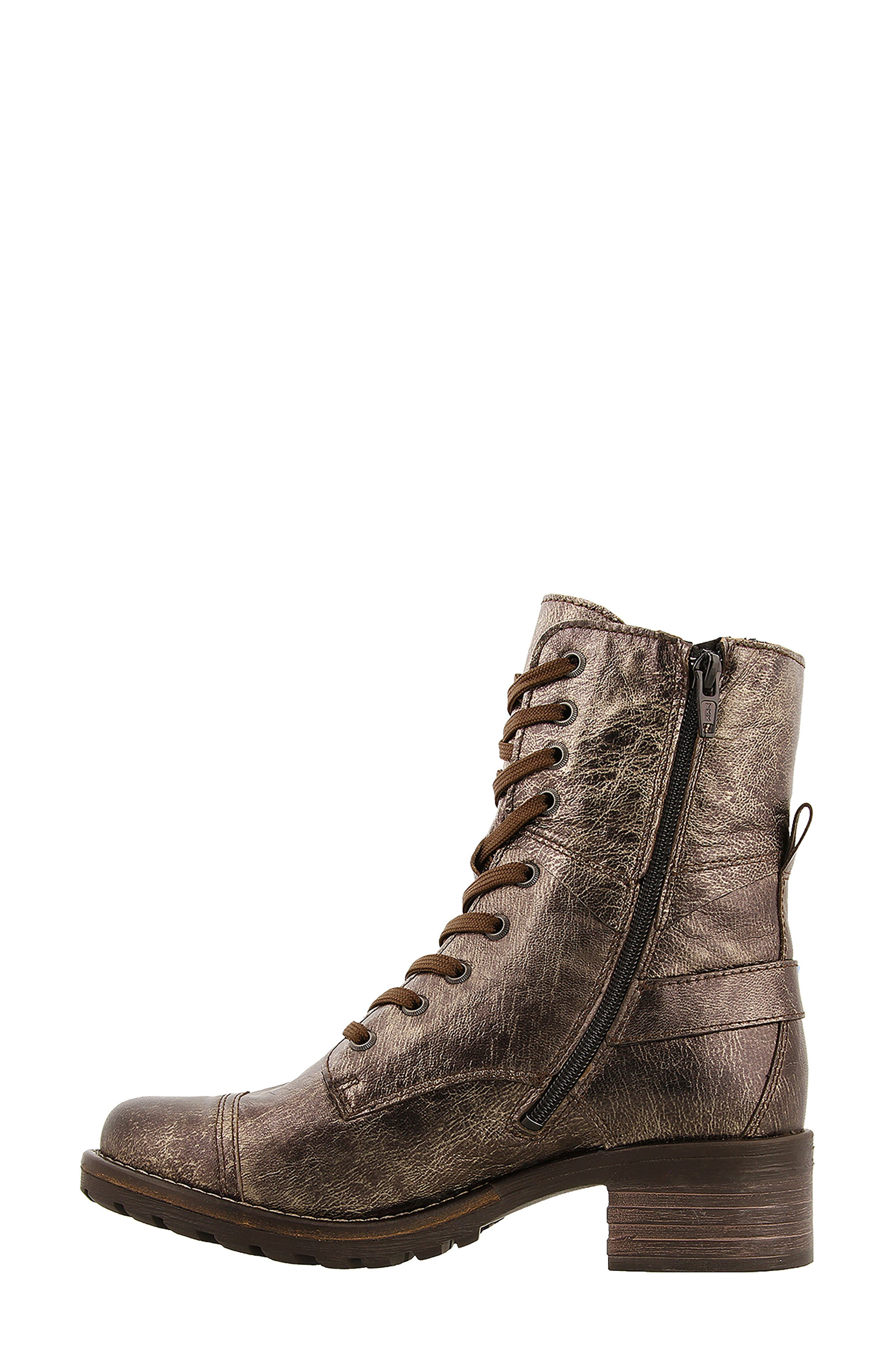 Crave Boot,                             Alternate thumbnail 3, color,                             BRONZE LEATHER